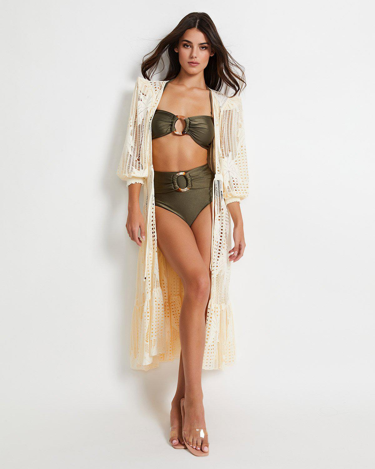 Palm Lace Robe (ONLINE EXCLUSIVE)
