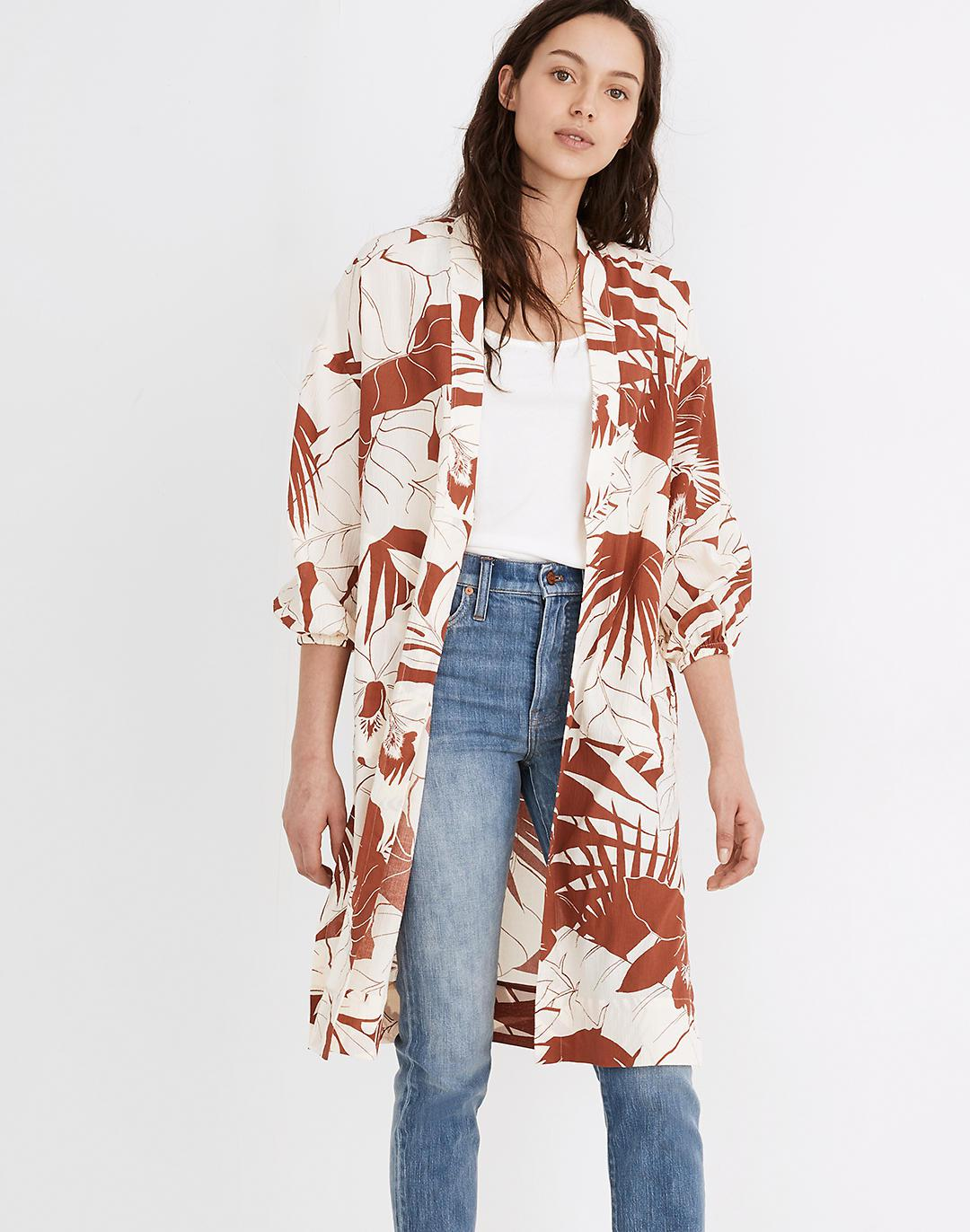 Robe Jacket in Tropical Vacation