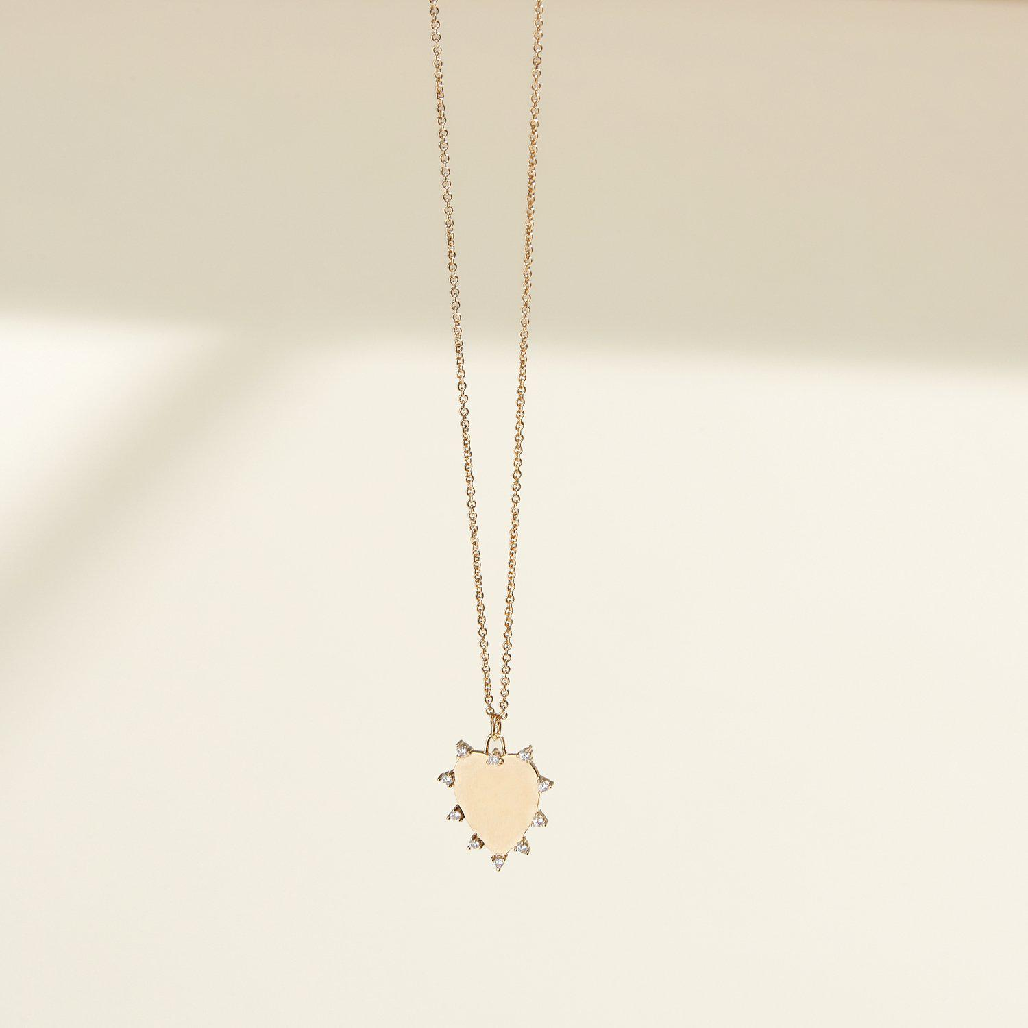 Everlasting Love Necklace Gold