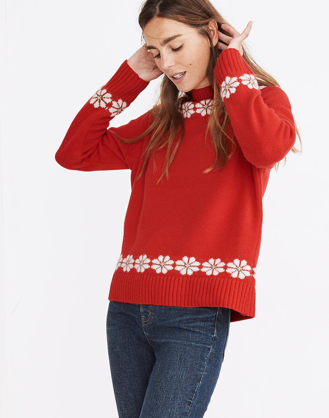 Floral Hazelwood Pullover Sweater