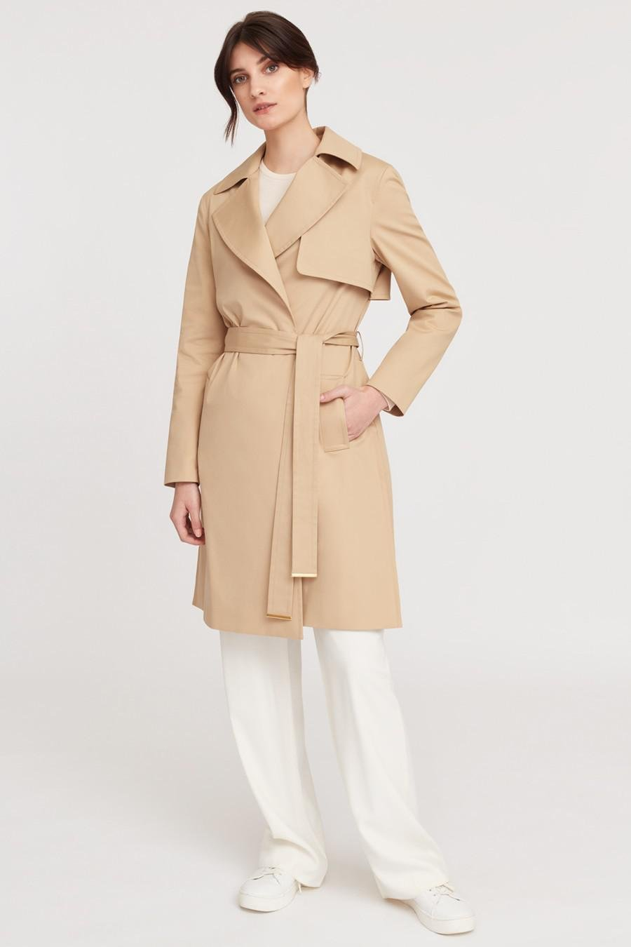 Women's Classic Trench in Wheat | Size: 1