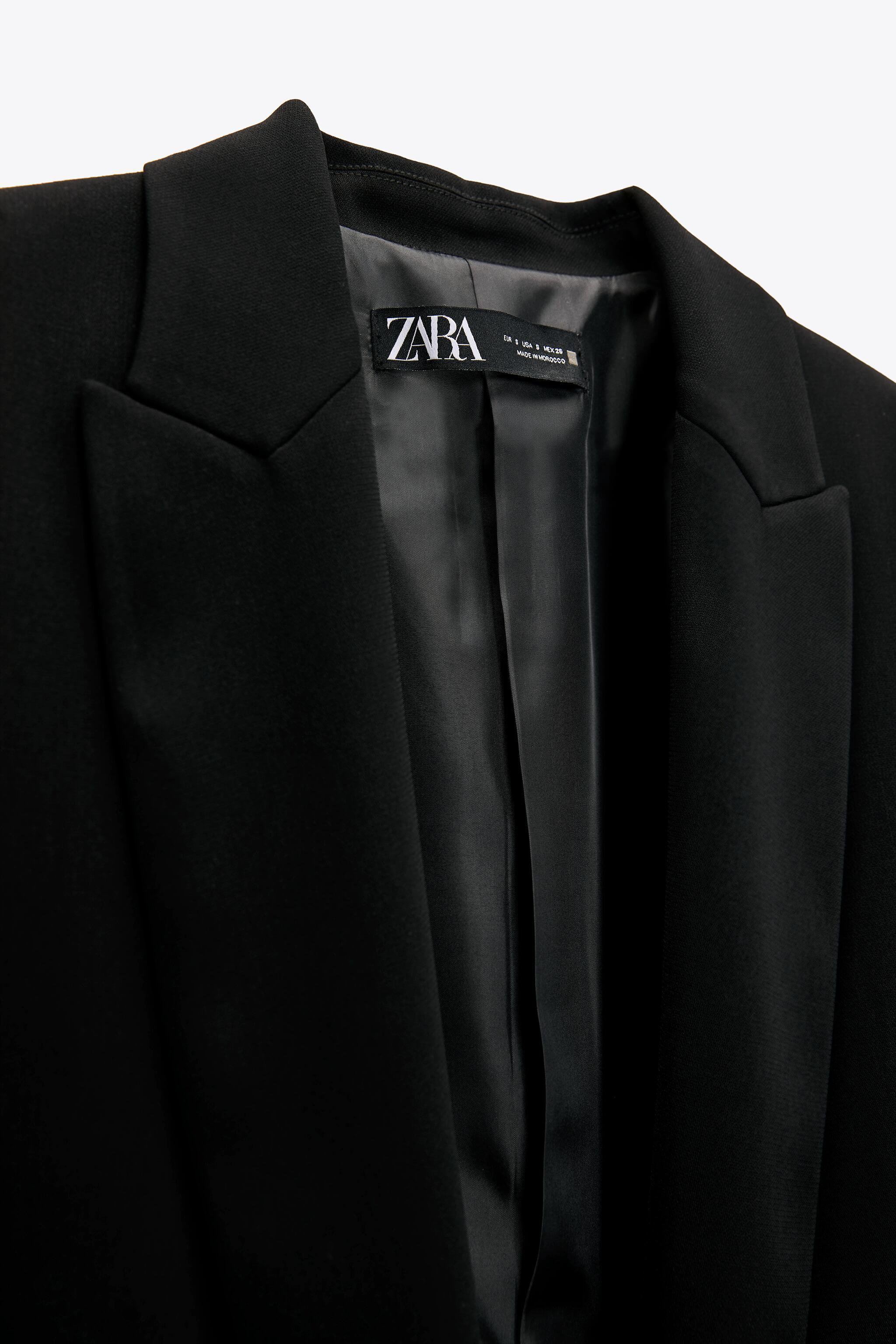 BLAZER WITH ROLLED-UP SLEEVES 4
