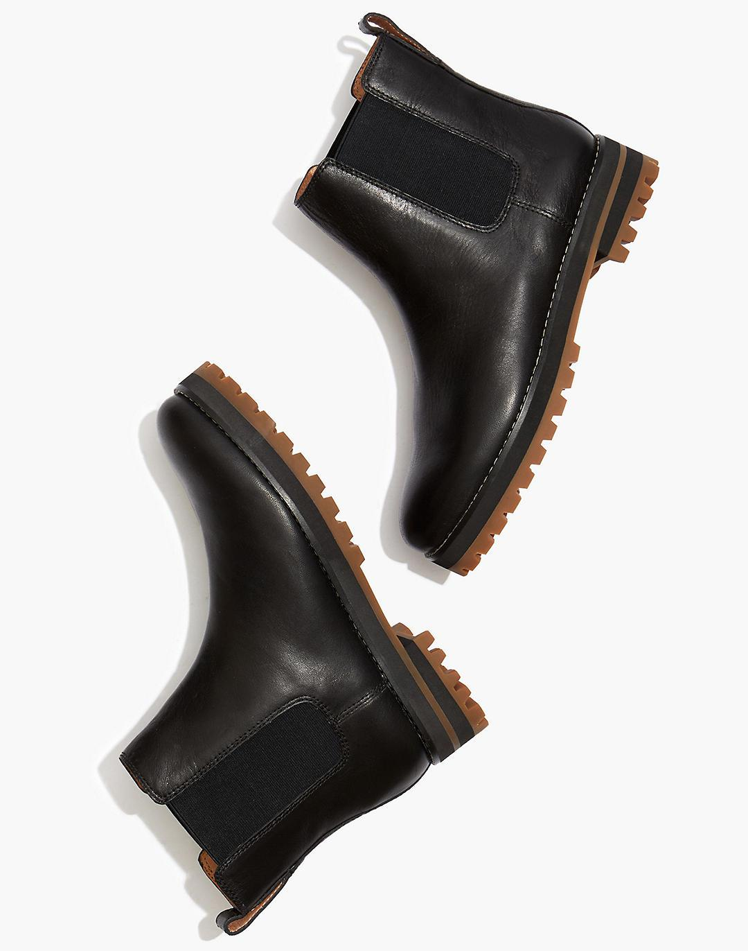 The Ivy Chelsea Boot in Leather