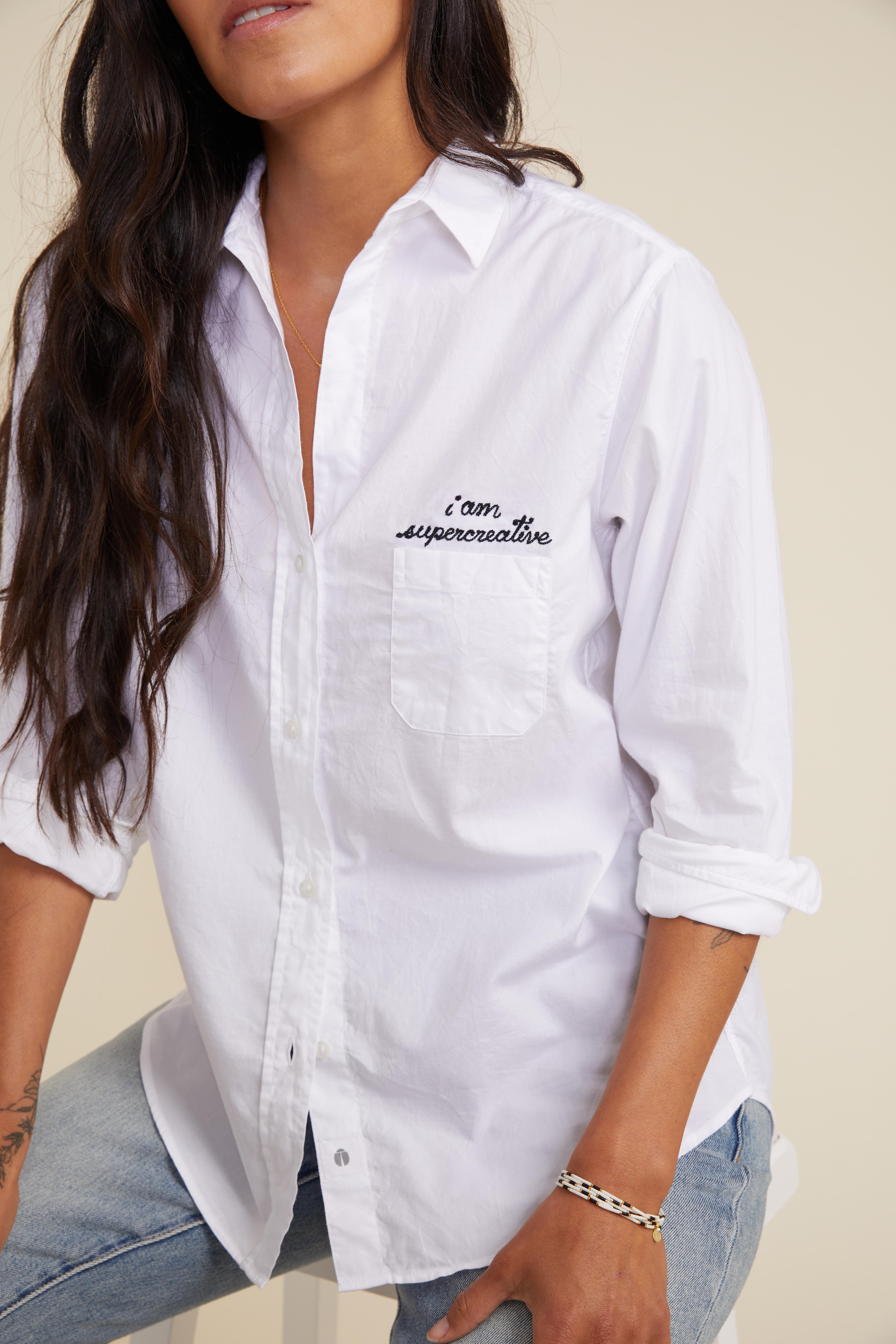 The Hero Button-Up Shirt Creative, Brushed Cotton 1