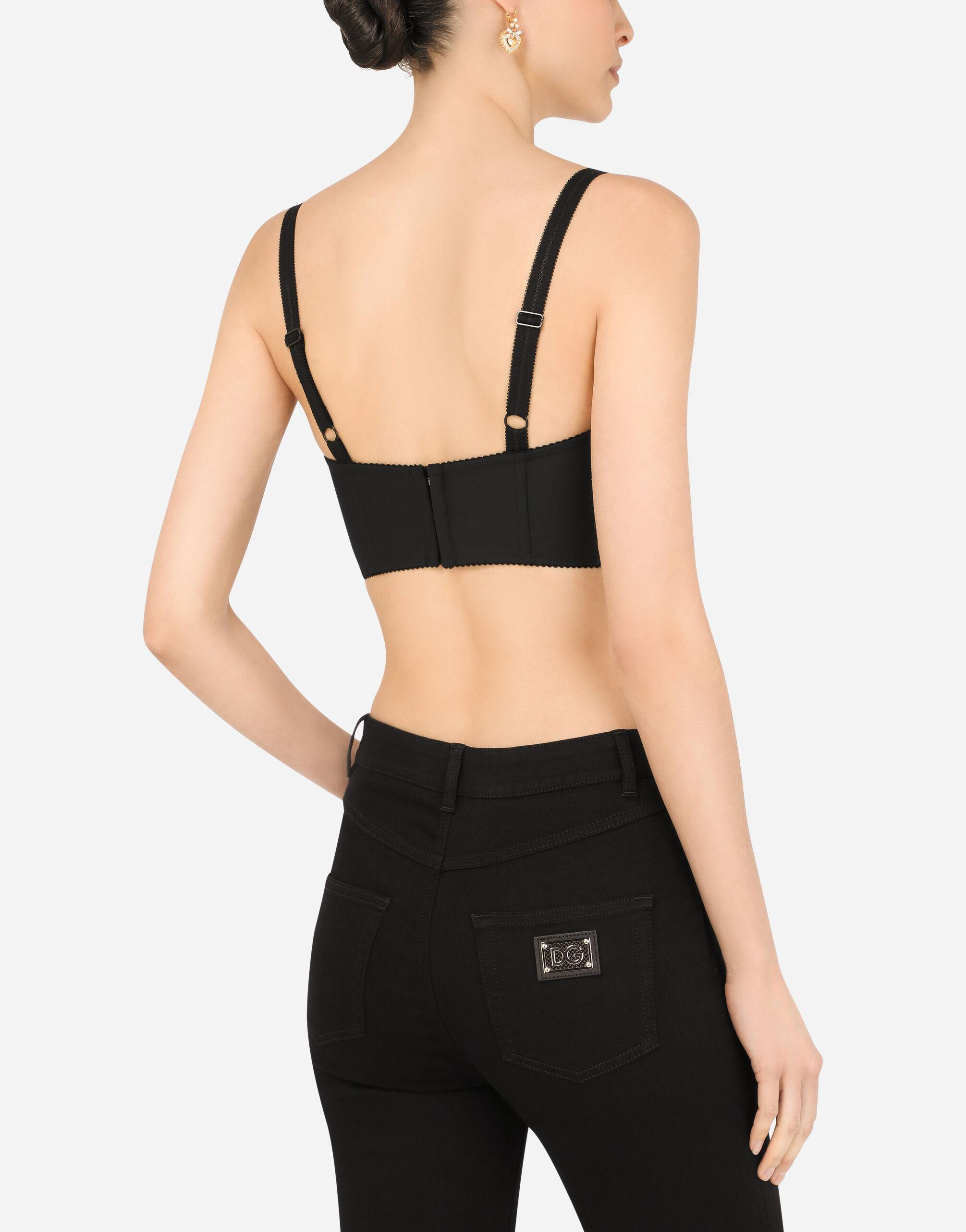 Bustier top with sweetheart neckline 3