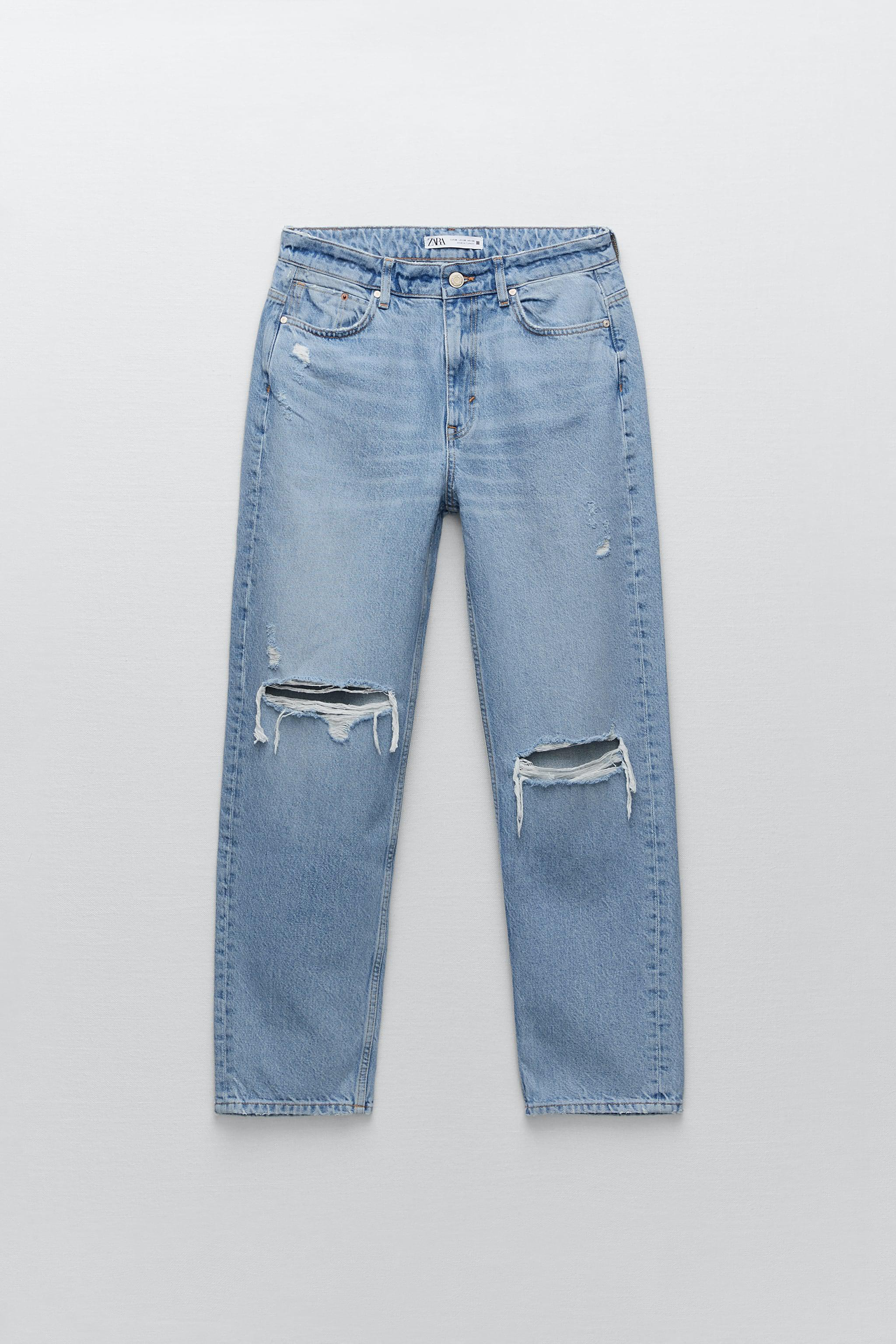 Z1975 RELAXED FIT RIPPED JEANS 7