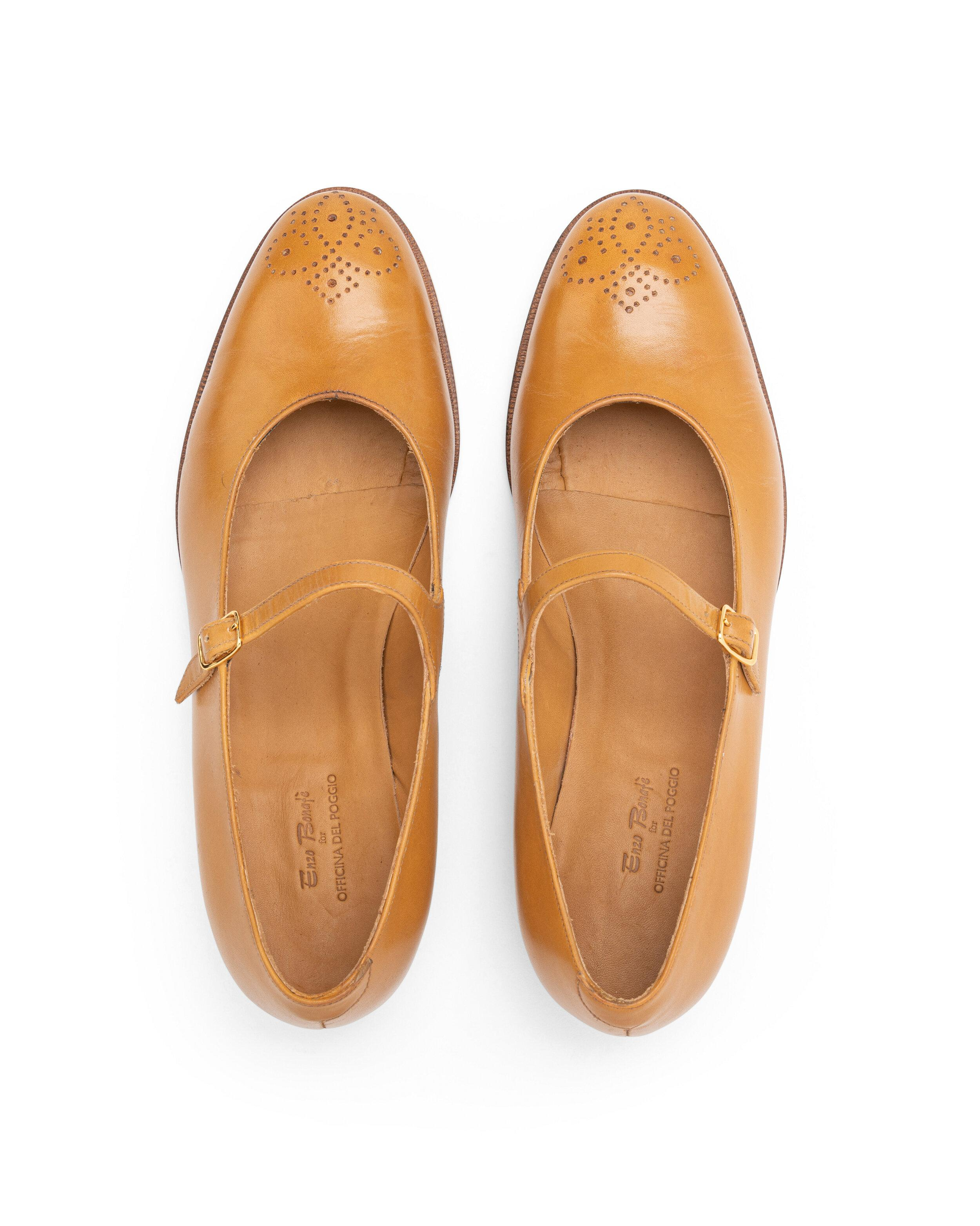 ODPEssentials Classic Mary Jane - Honey Leather 1
