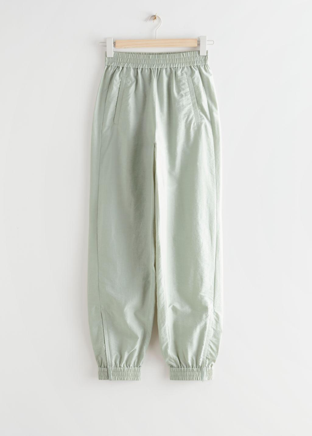 Relaxed Elasticated Waist Trousers