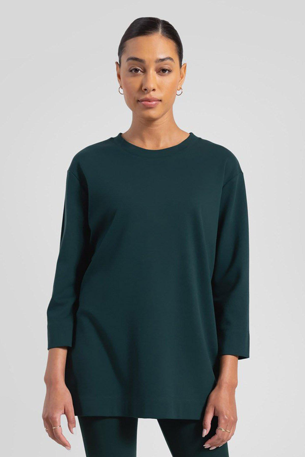 Rio Oversized Tunic - Forest
