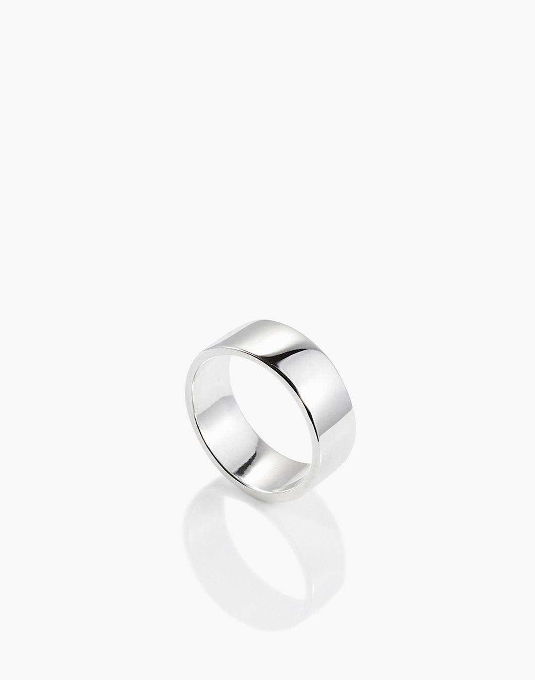 Charlotte Cauwe Studio Wide Band in Sterling Silver
