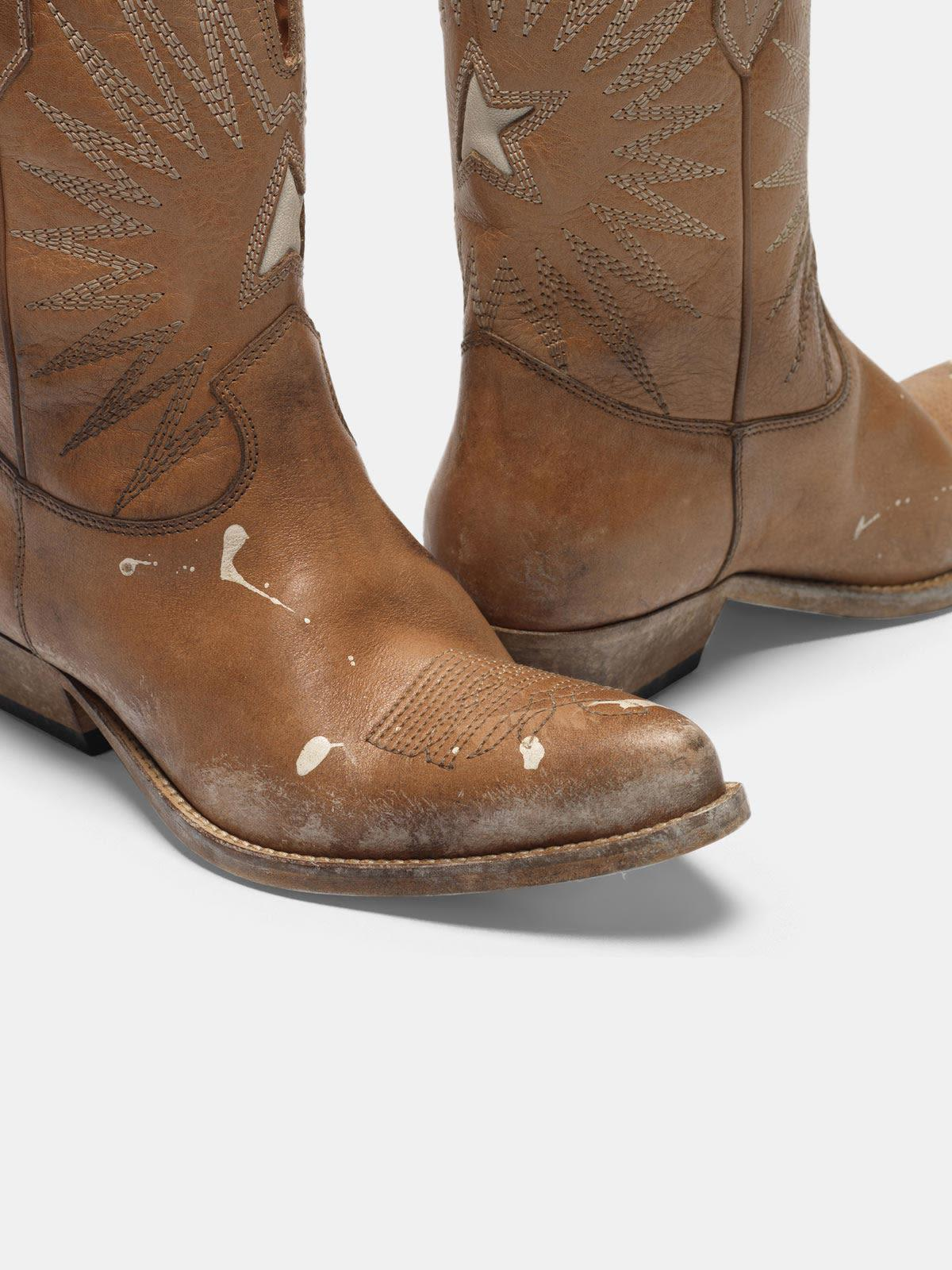 Low Wish Star boots with honey-coloured vegetable tanning 3