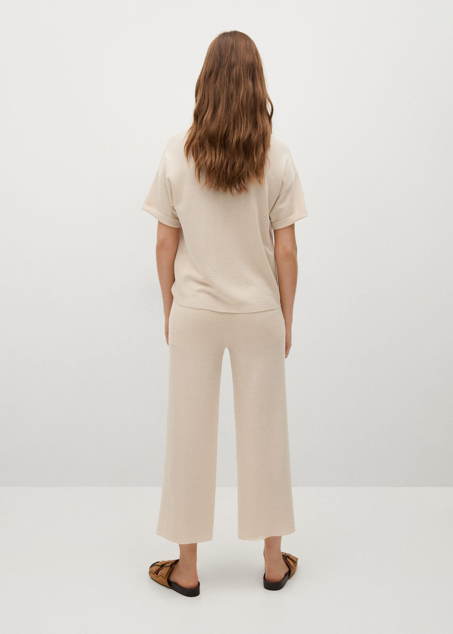 Knitted culotte trousers 2