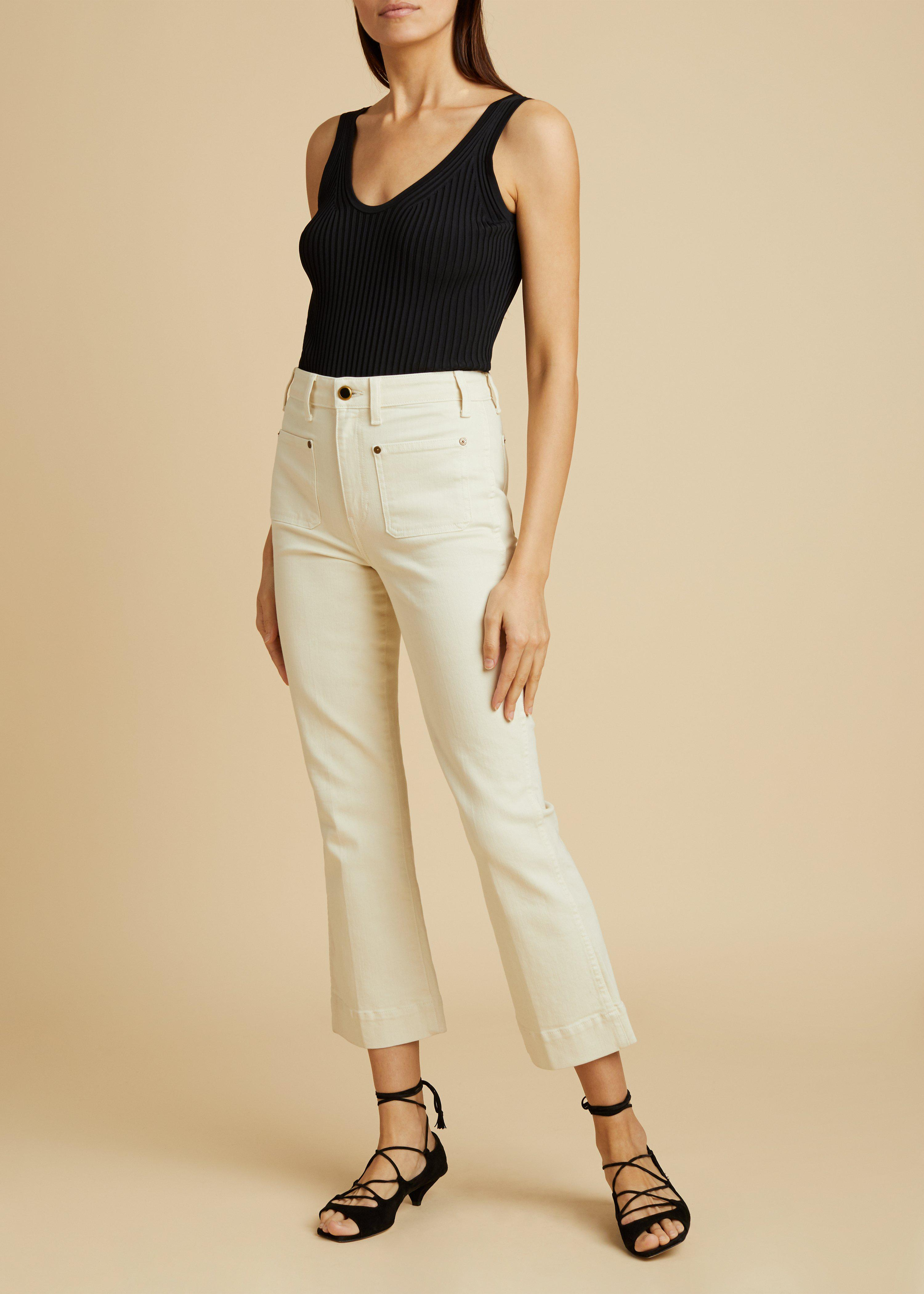 The Raquel Jean in Ivory 0
