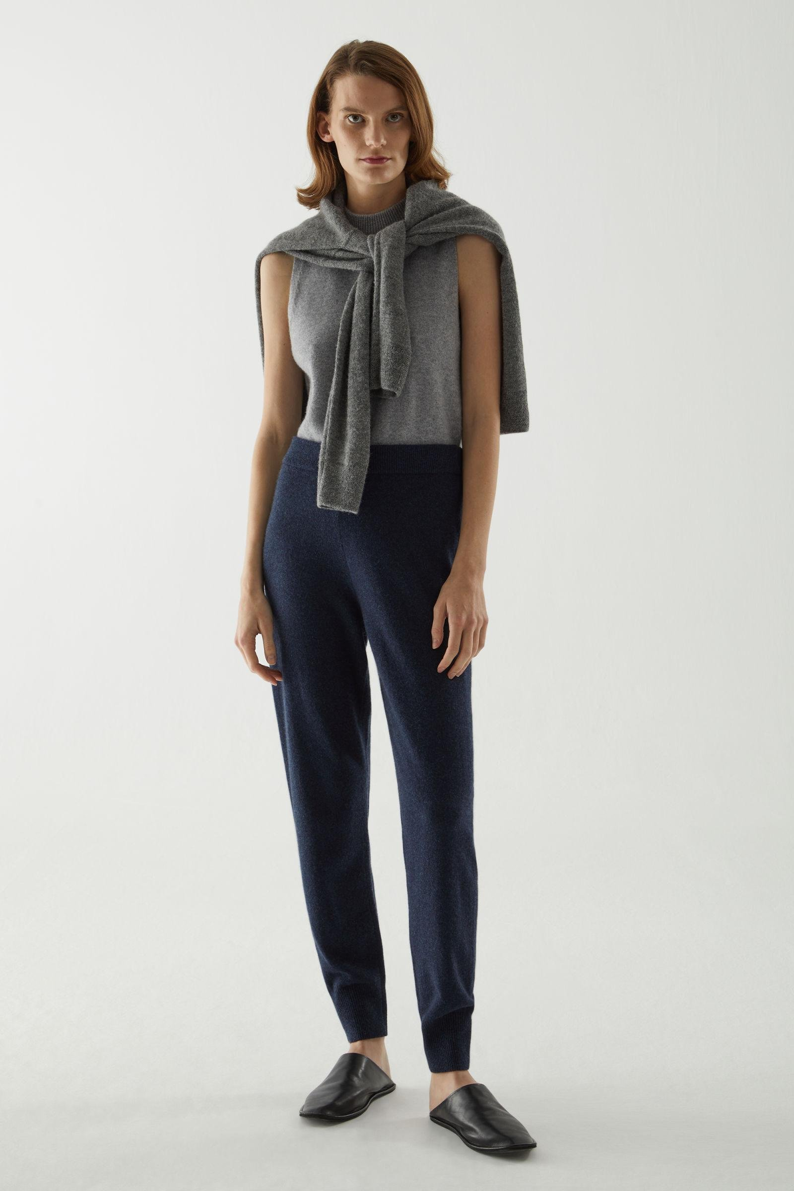 RECYCLED CASHMERE JOGGERS