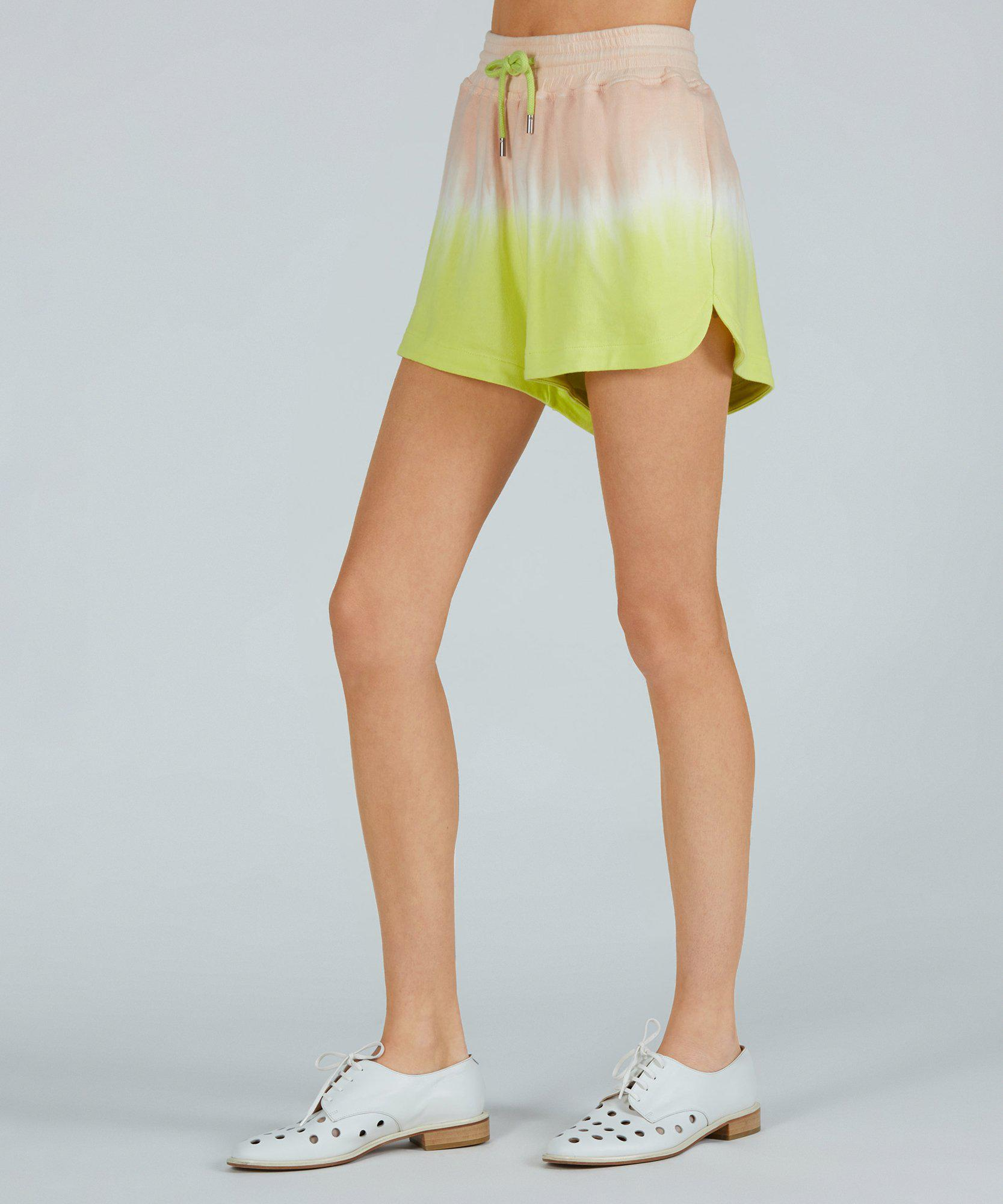 French Terry Pull-On Short - Shell Combo Dip Dye 1
