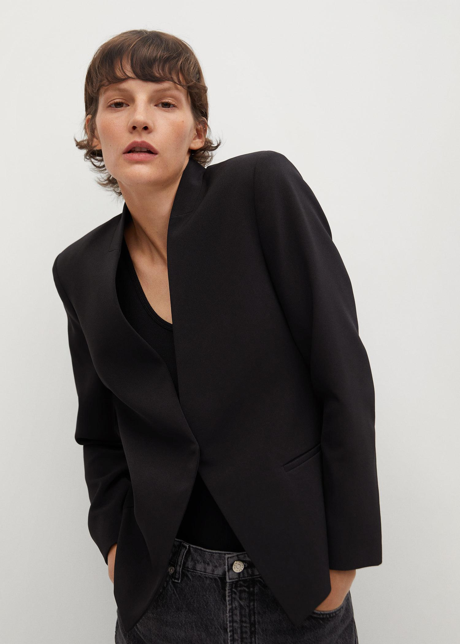 Crepe fitted blazer 3
