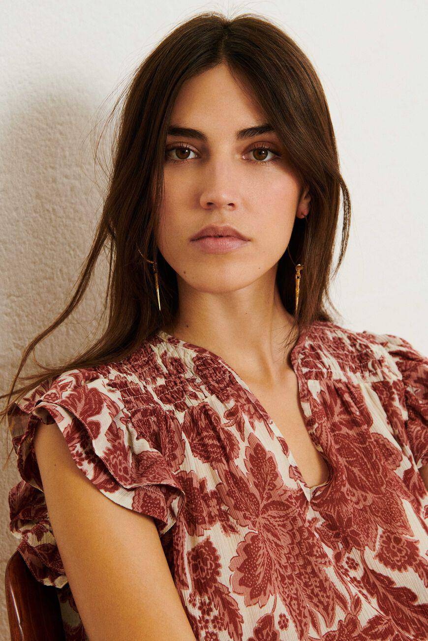 will.FLORAL PRINT TOP