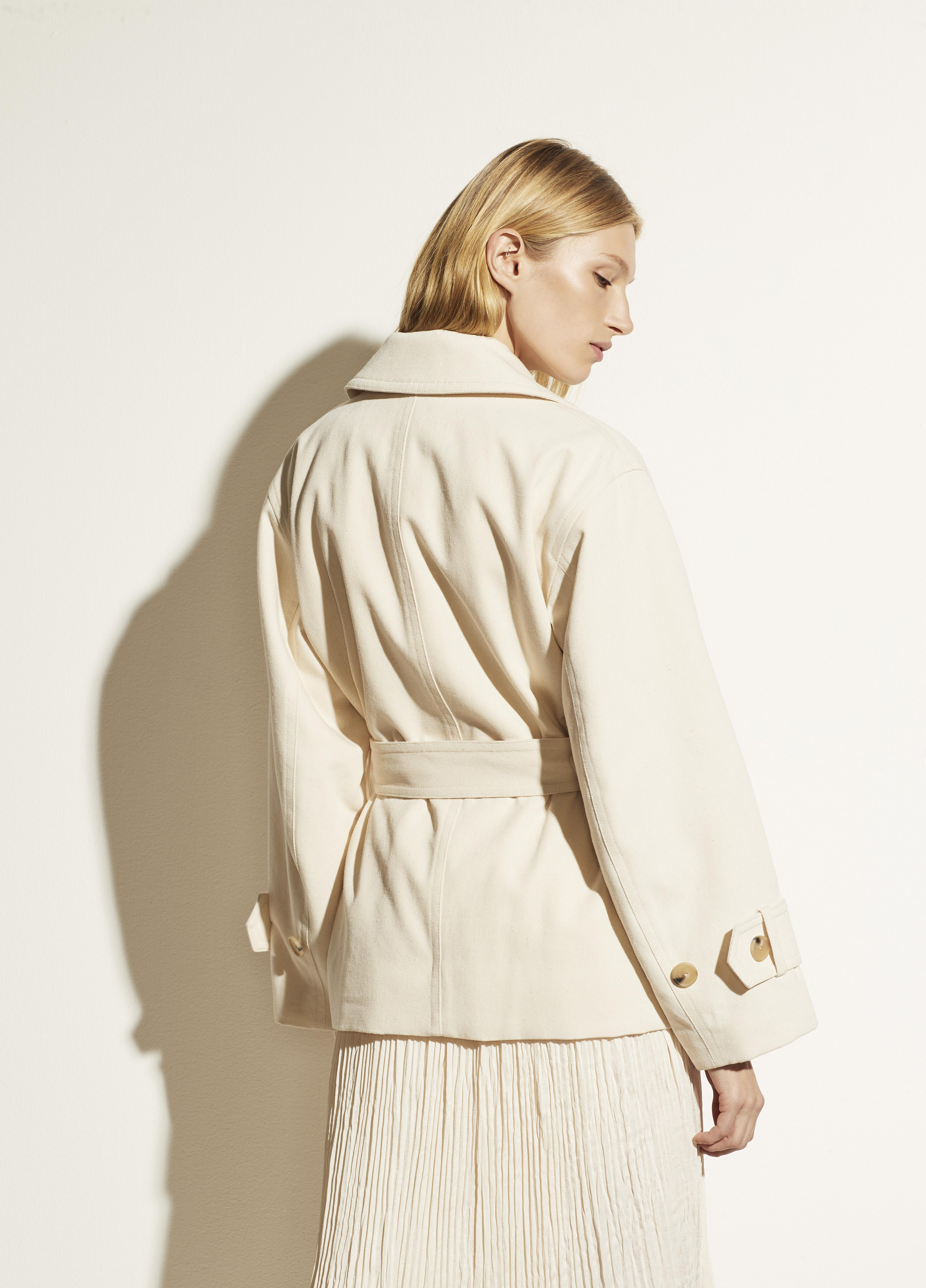 Belted Casual Jacket 3
