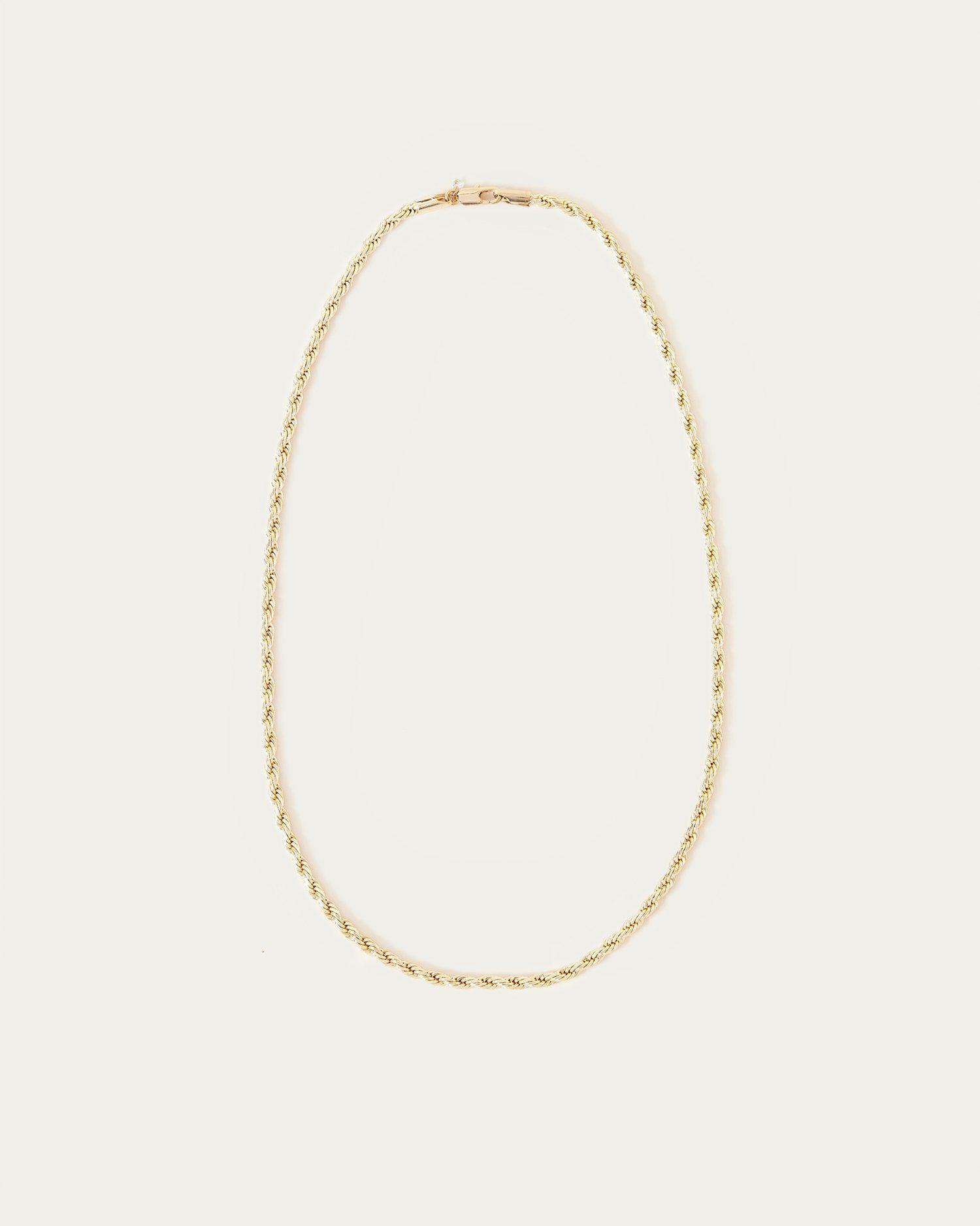 Sylvie Gold Twisted Chain Necklace