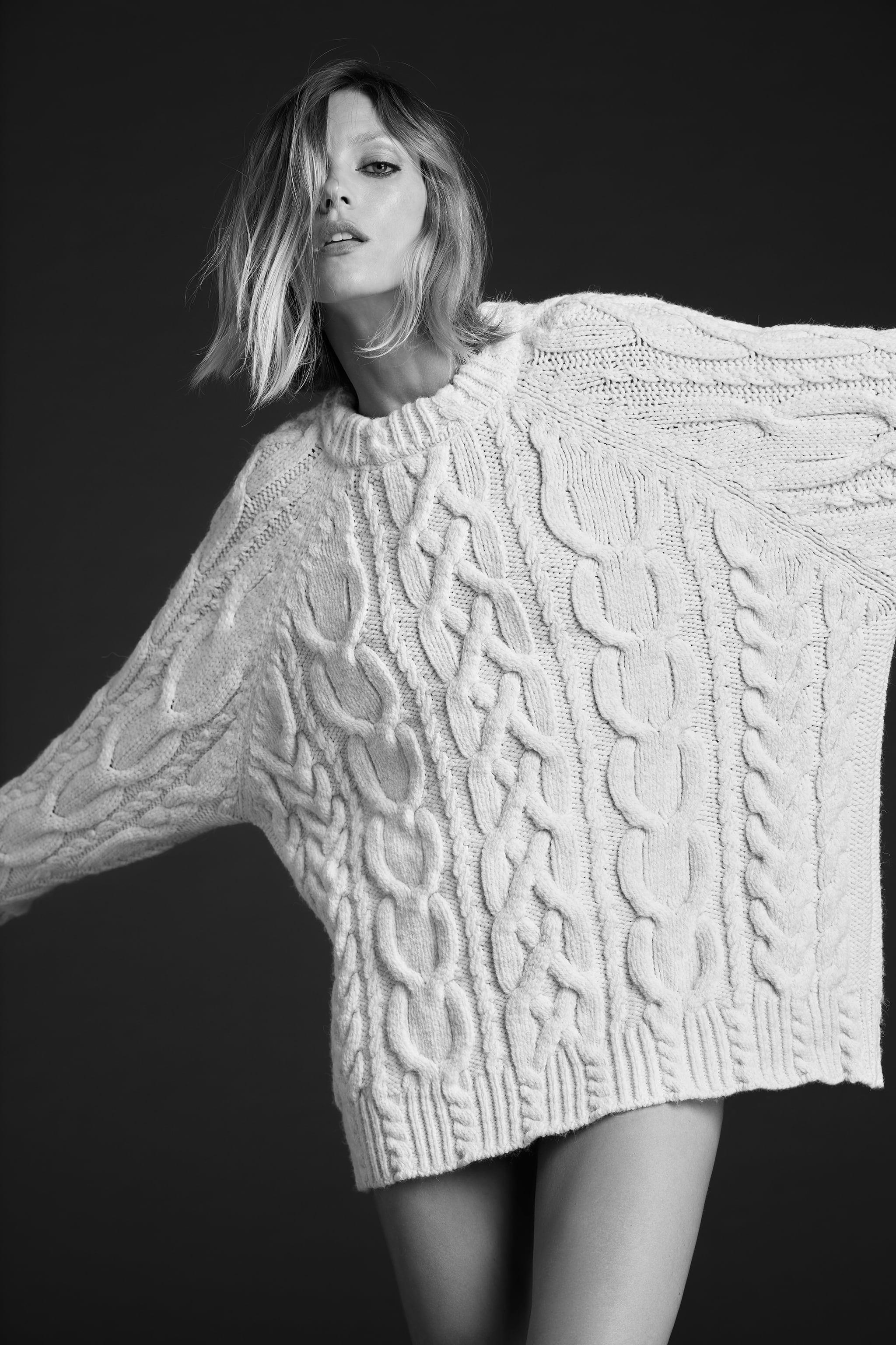 CABLE KNIT SWEATER 1