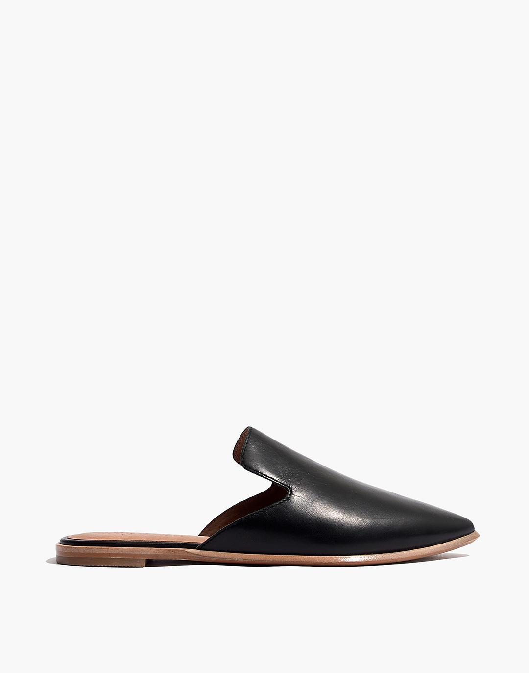 The Gemma Mule in Leather 1