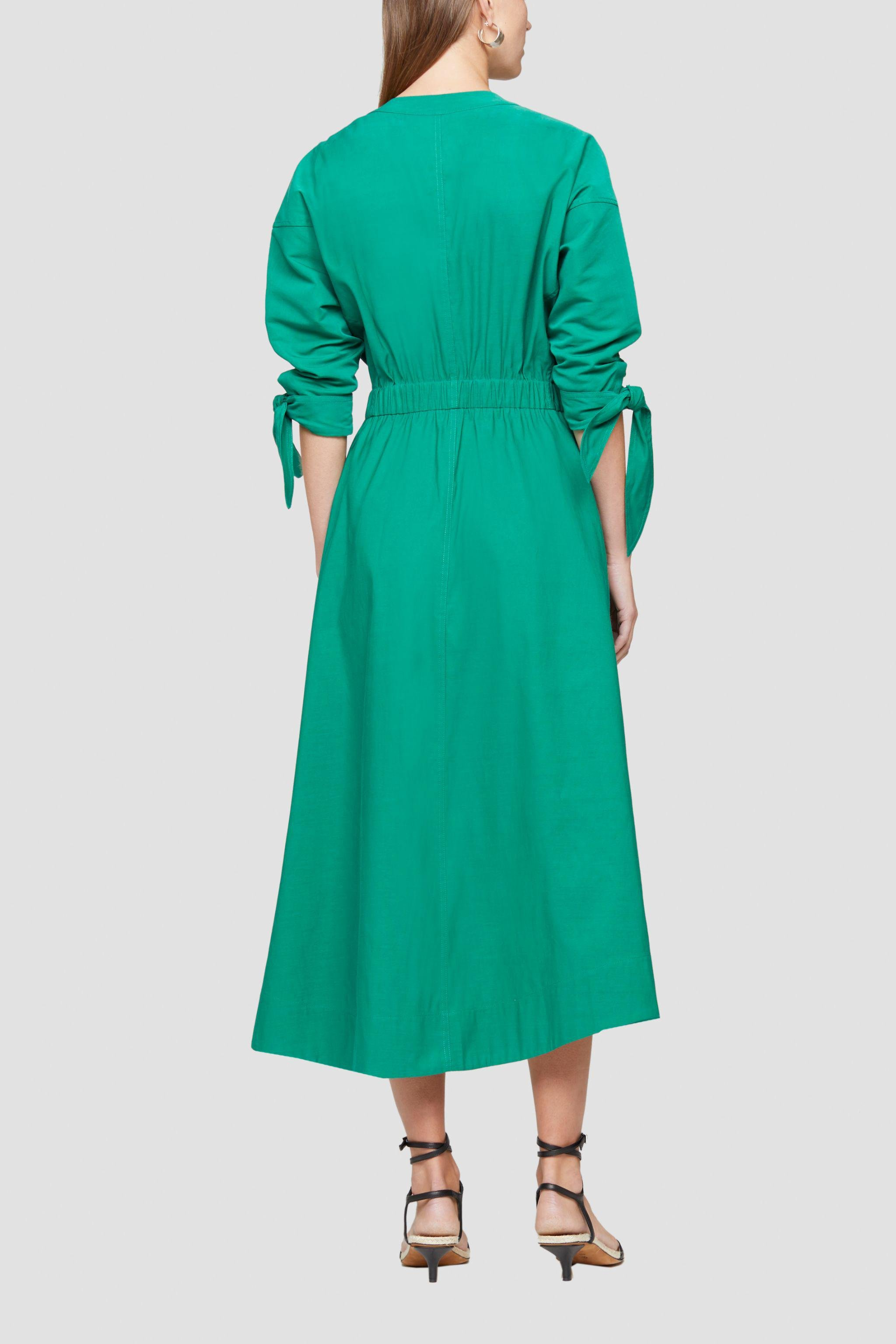 Belted Mid Length Dress 3
