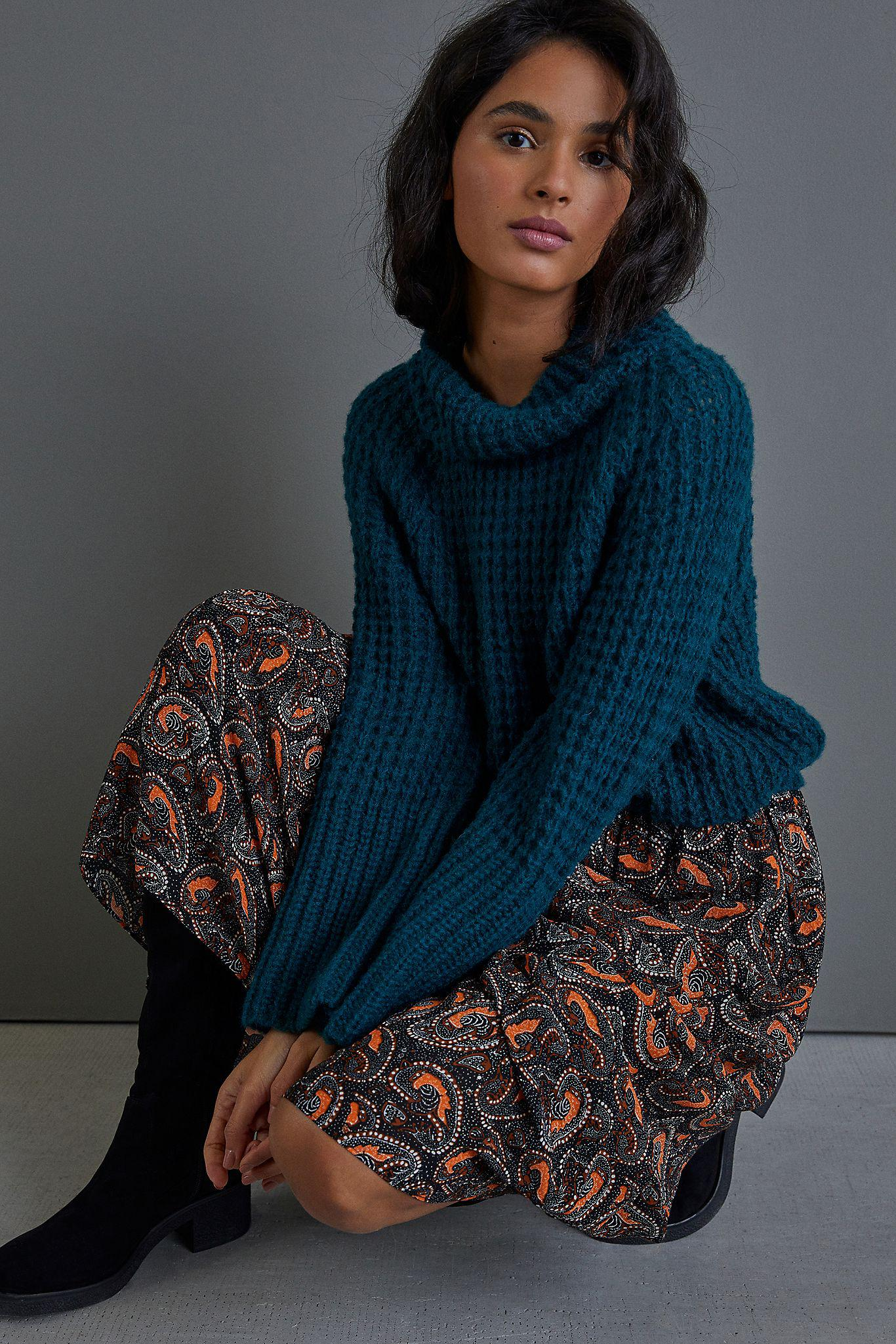 Maeve Dionne Bell-Sleeved Sweater