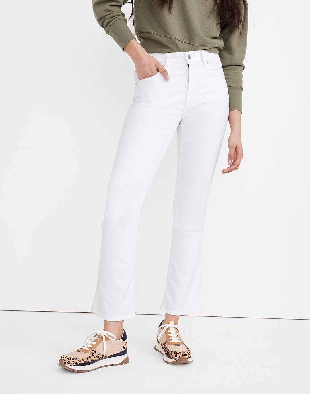 Tall Cali Demi-Boot Jeans in Pure White 3