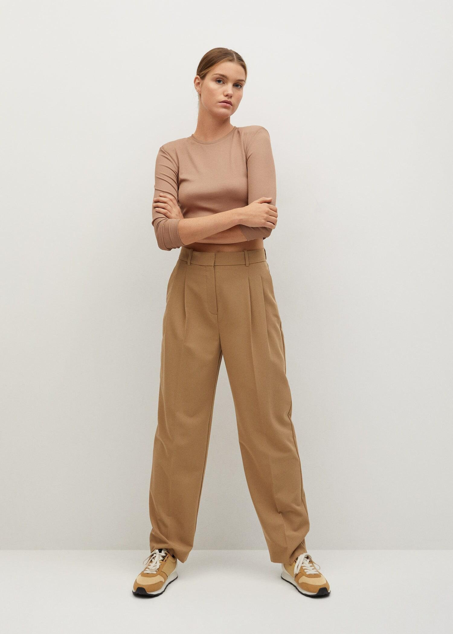 Long-sleeved cropped t-shirt 1