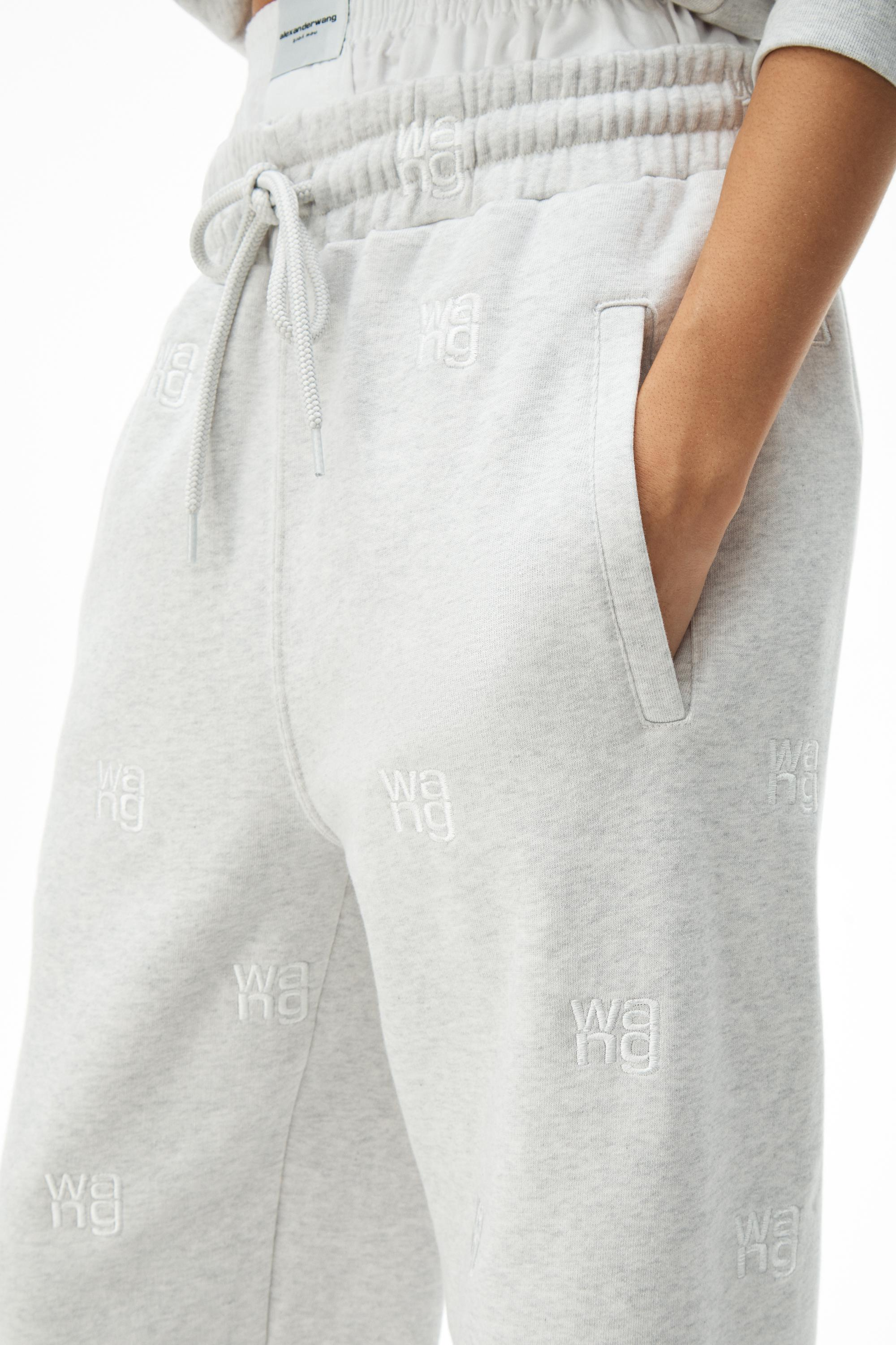 logo embroidered jogger 2