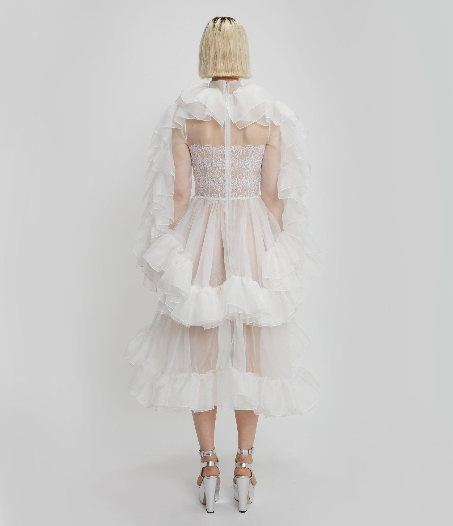 Christopher Kane Bridal: The Organza Frill Gown 2