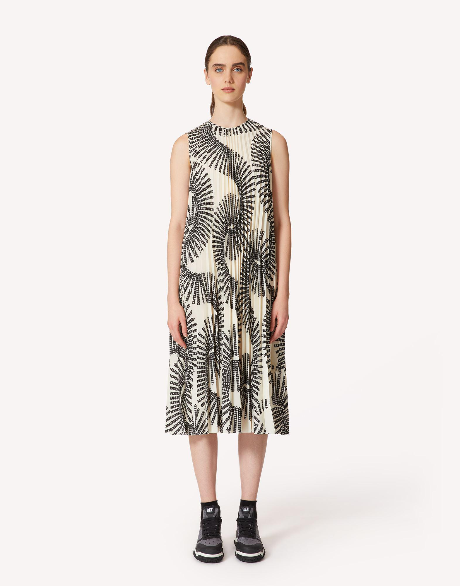 CHELSEA IN BLOOM LIMITED EDITION - PRINTED PLEATED DRESS