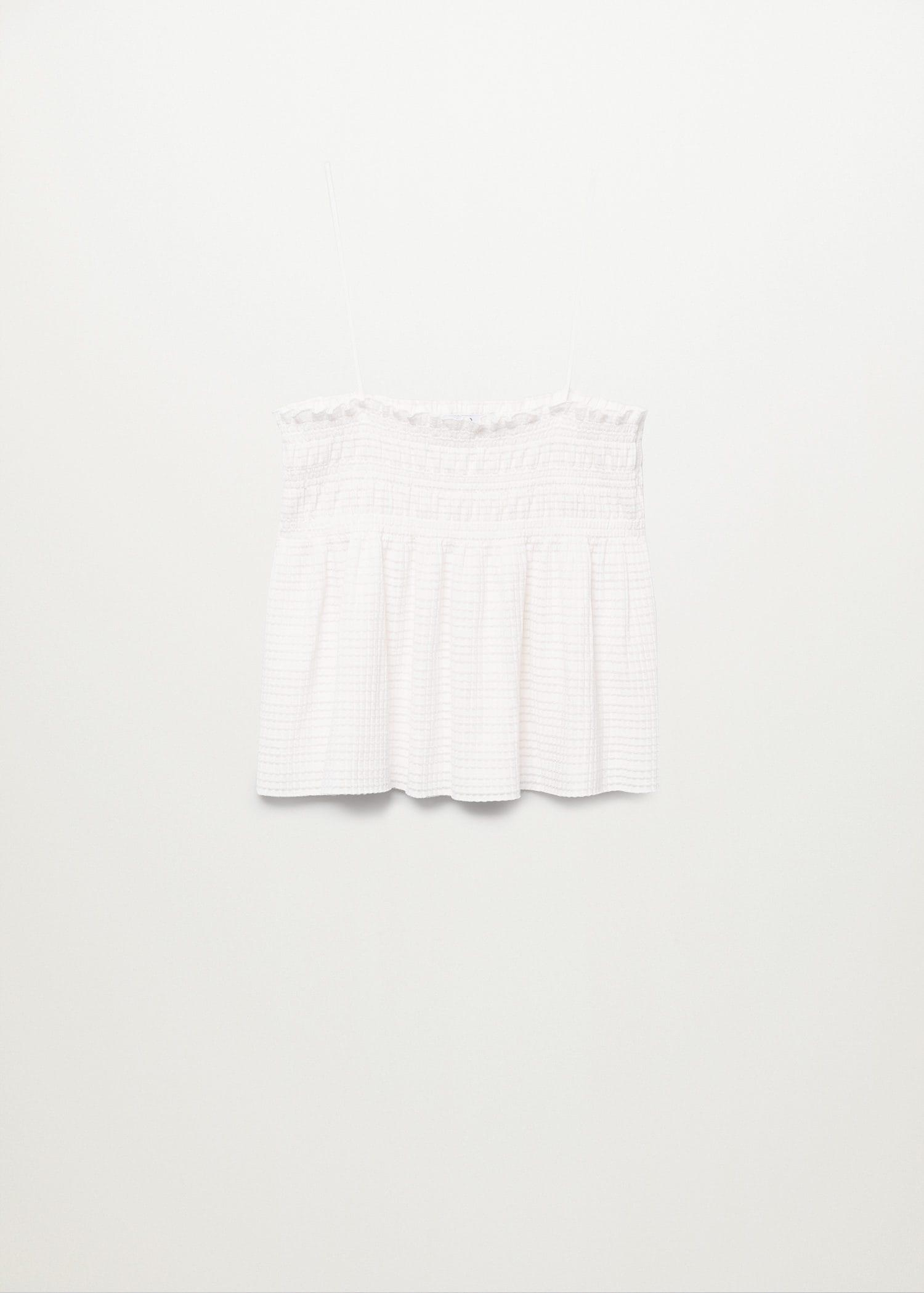 Pleated strap top 7