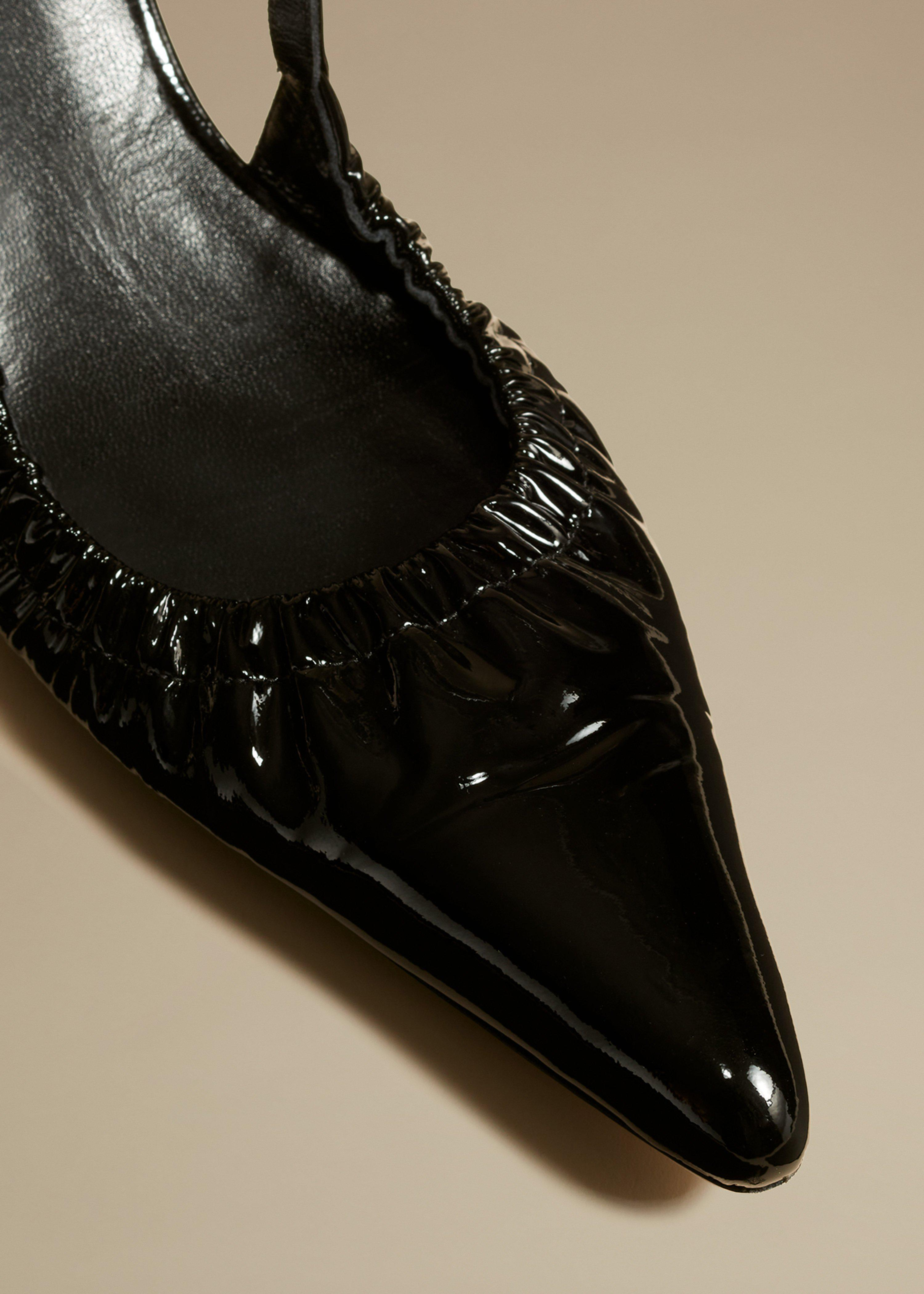 The Athens Pump in Black Patent Leather 5
