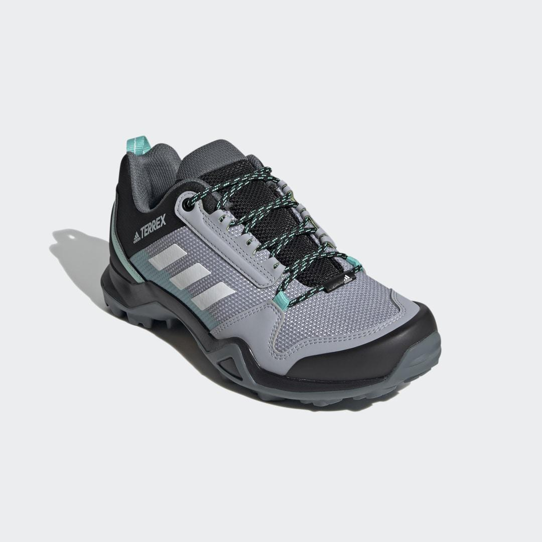 Terrex AX3 Hiking Shoes Halo Silver