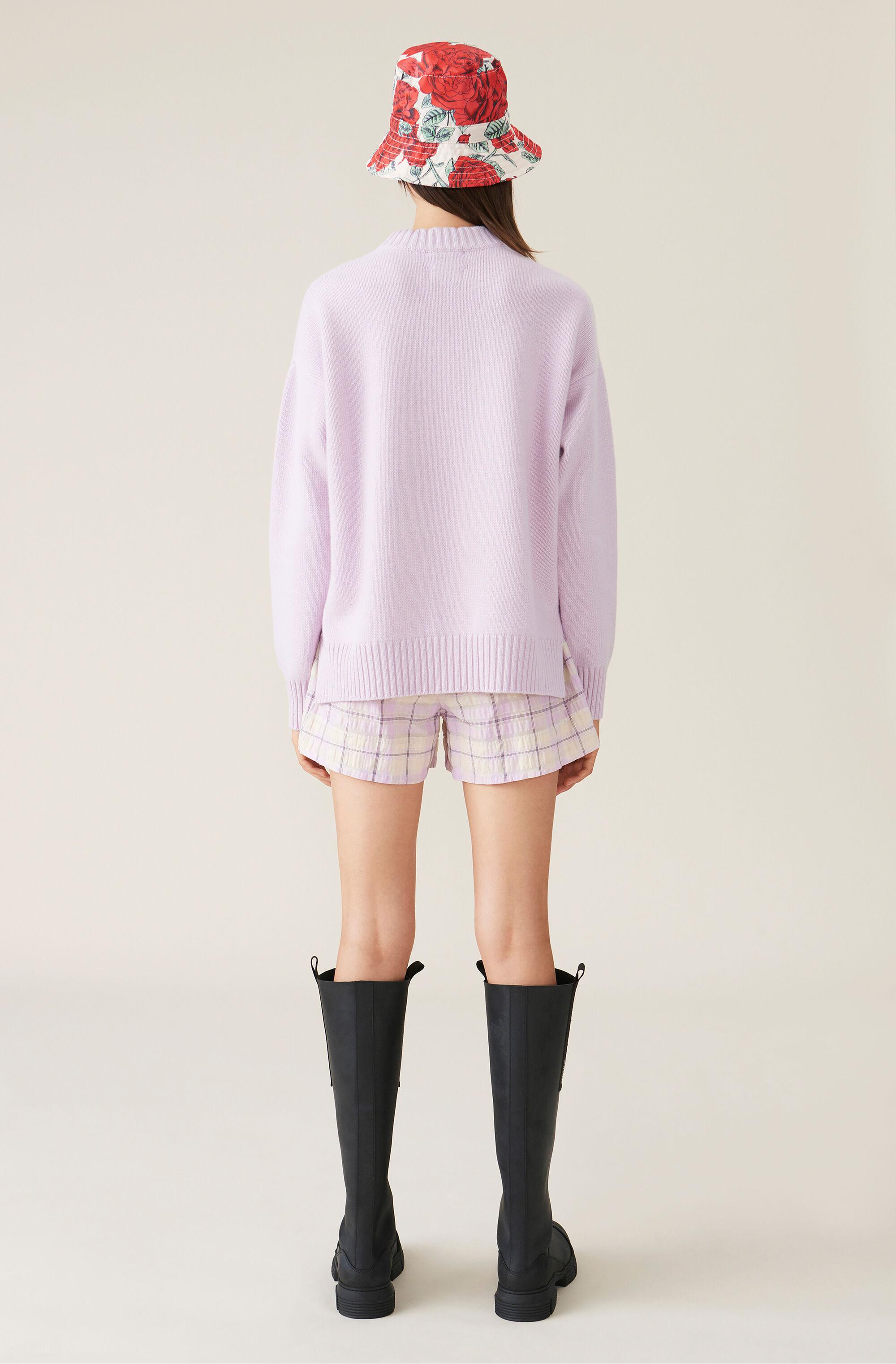 Cashmere Mix Knit Pullover 2