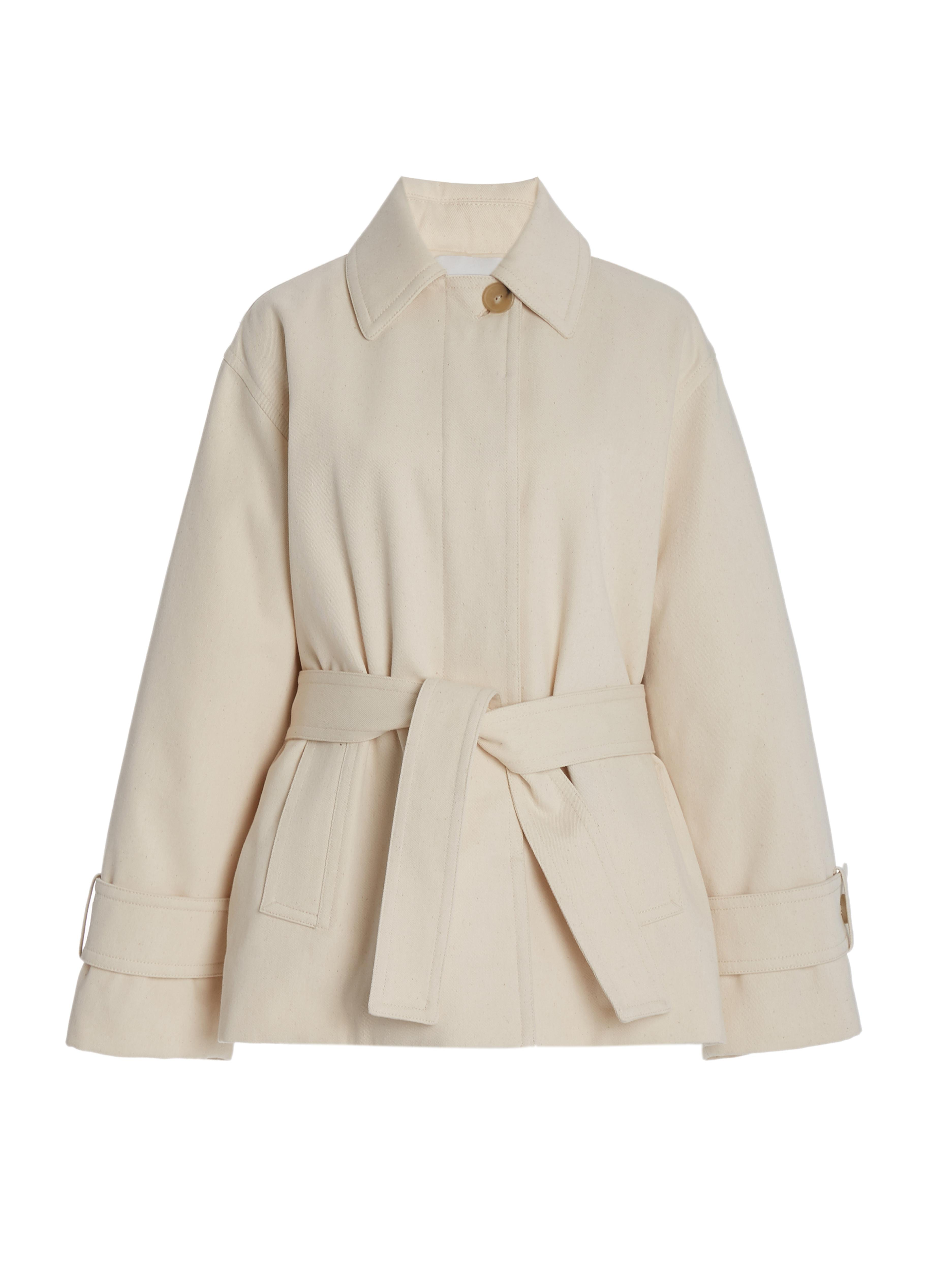 Belted Casual Jacket 4