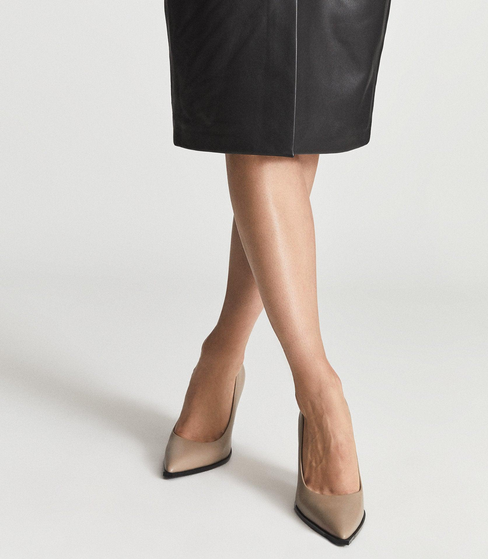 ADA COURT - LEATHER COURT SHOES 5
