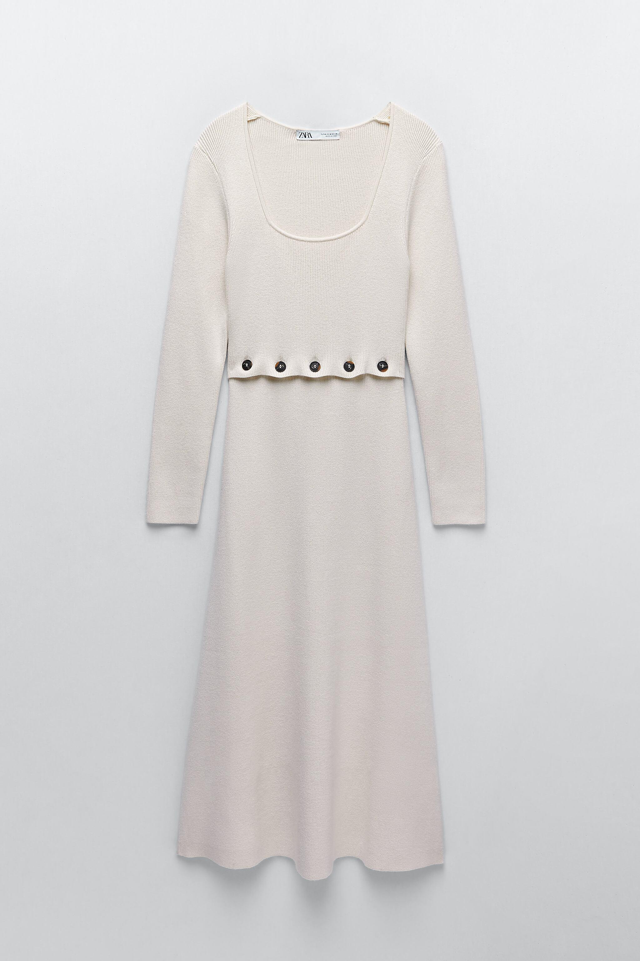 KNIT DRESS WITH BUTTONS 4