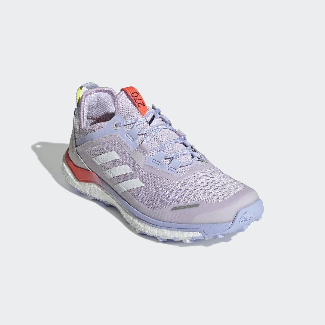 Terrex Agravic Flow Trail Running Shoes Purple Tint