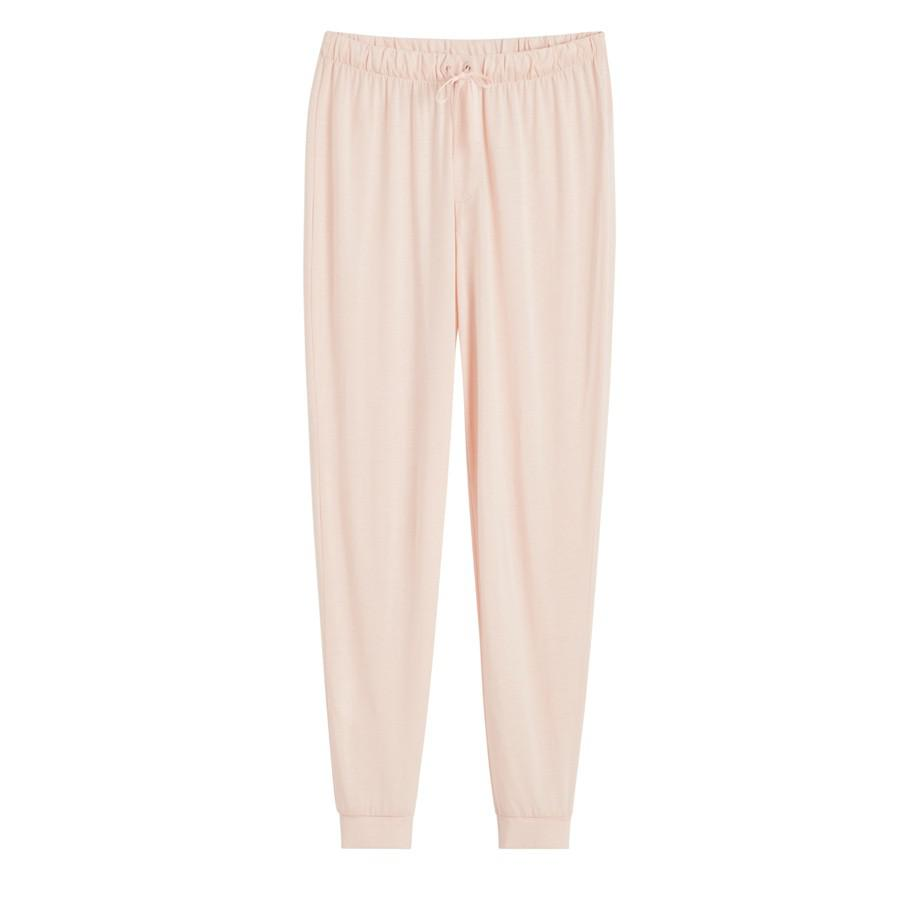 Women's Pima Tapered Pant in Blush Pink | Size: