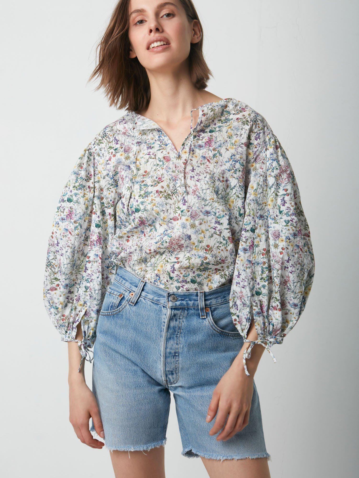 Magnolia Blouse Made With Liberty Print