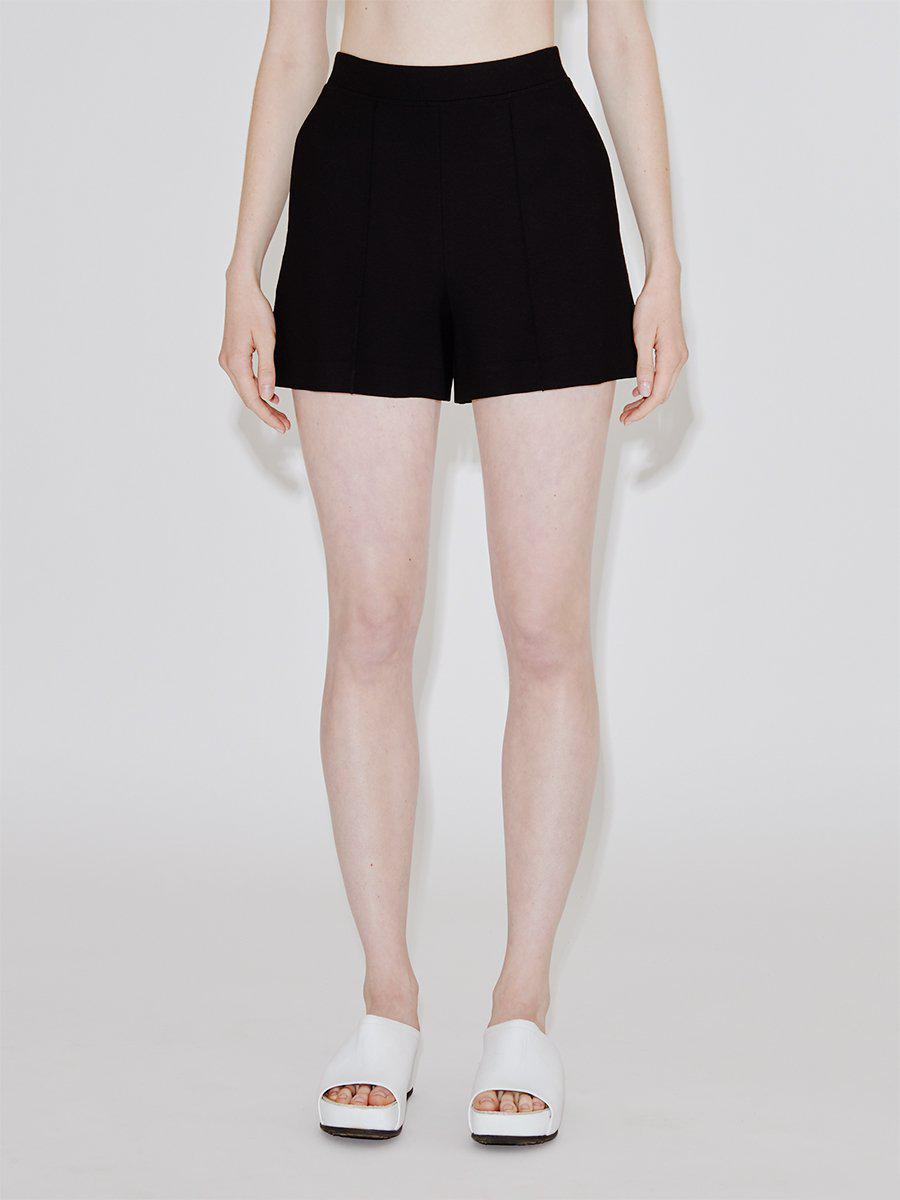 Pull On Relaxed Pintuck Shorts 1