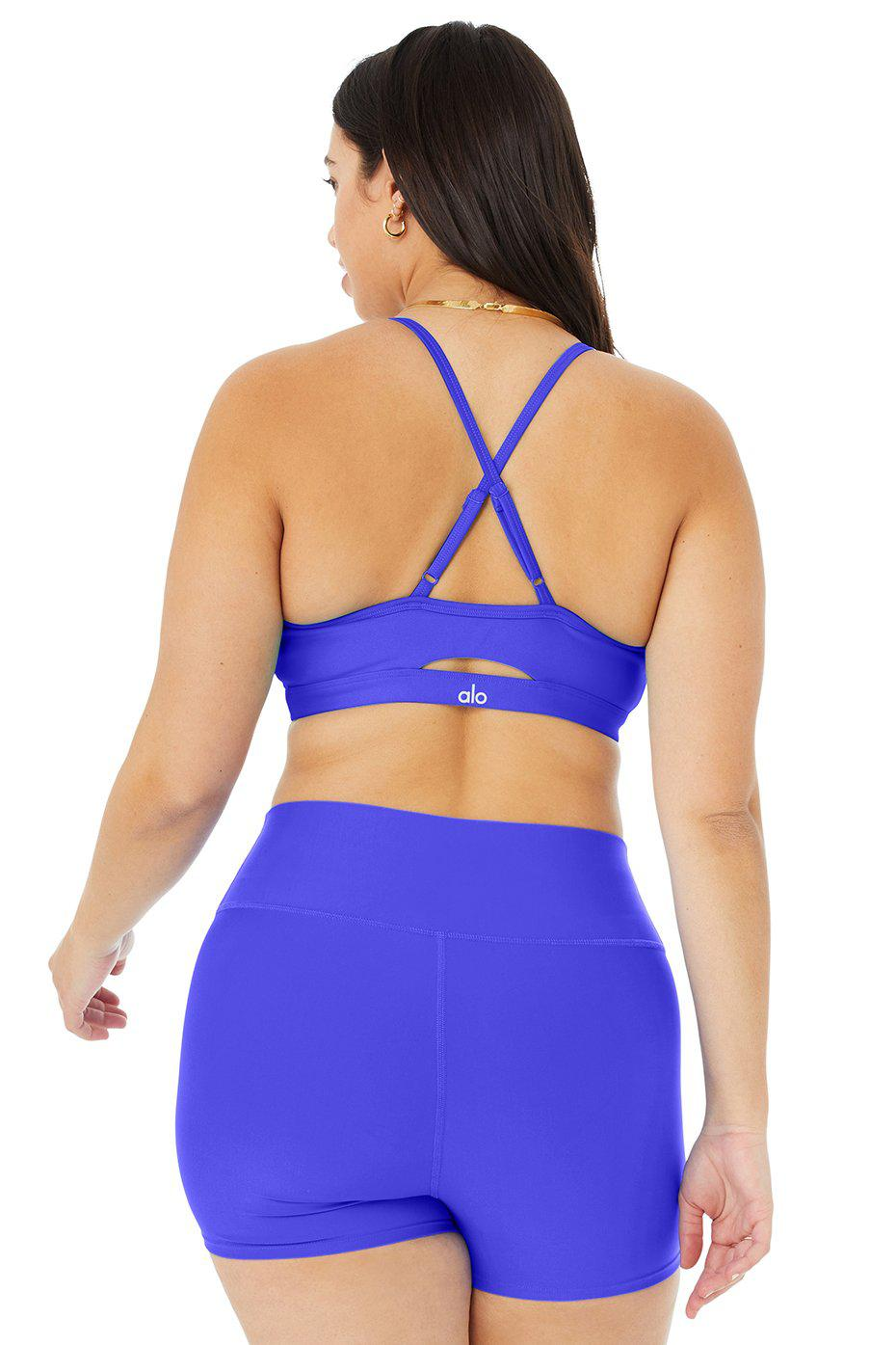 Airlift Intrigue Bra - Alo Blue 7
