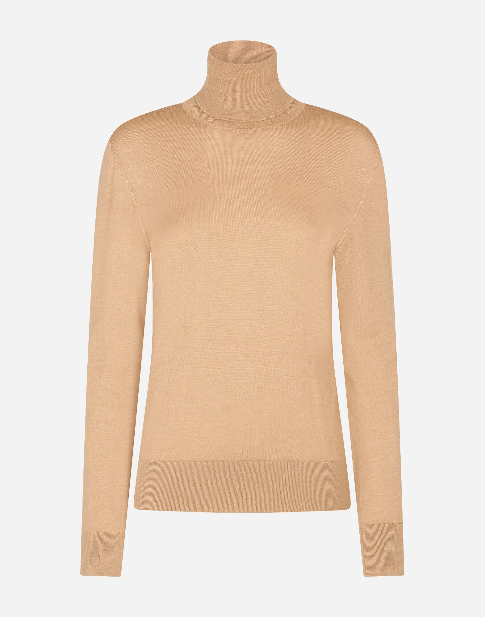 Cashmere and silk turtle-neck sweater 3