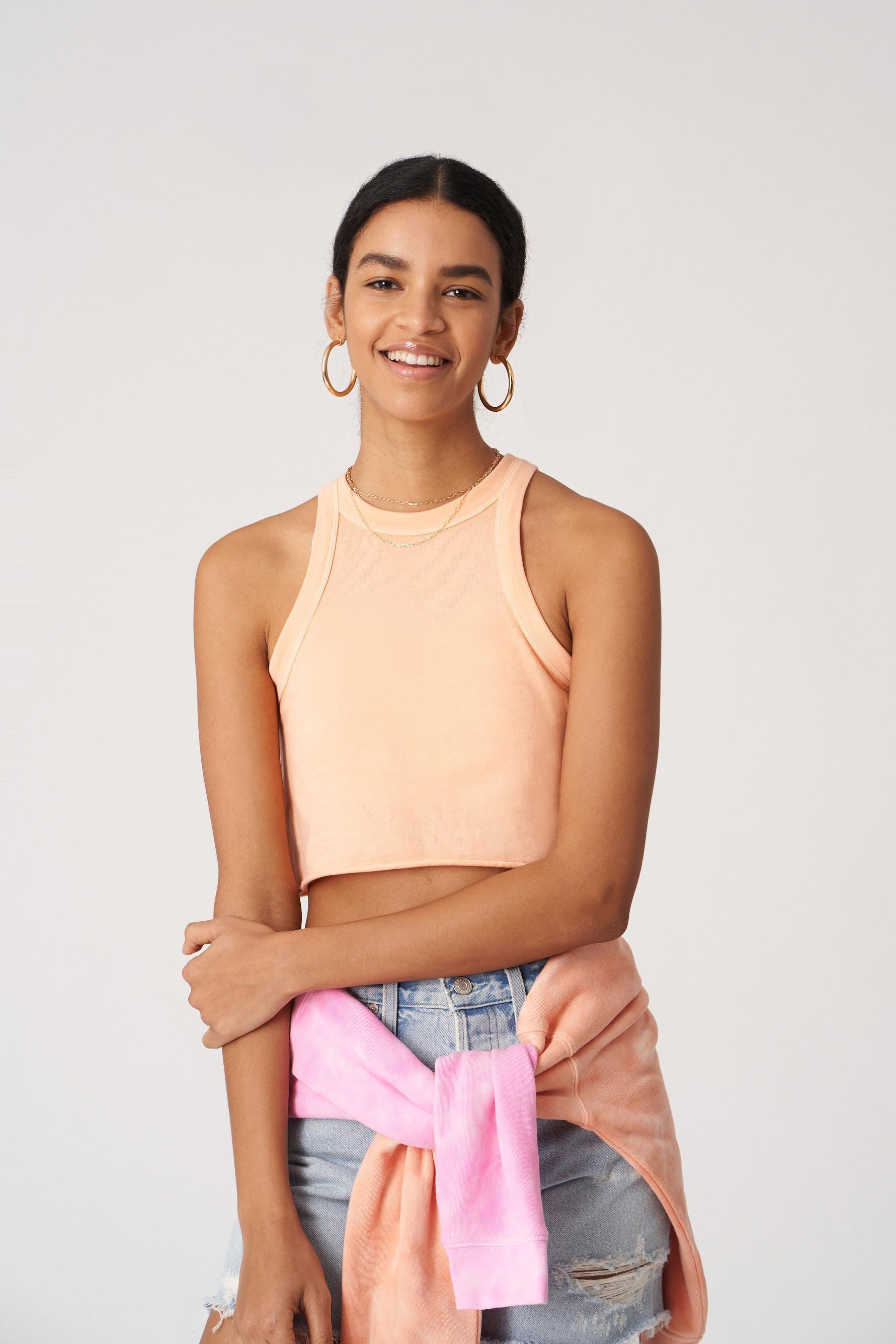 The Rivington Weekend Cropped Tank 2