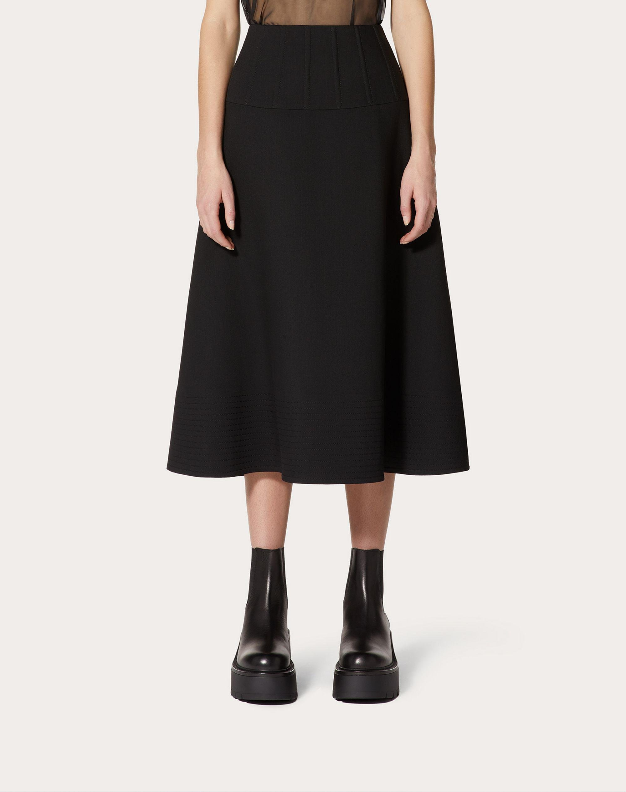 Crepe Couture Full Skirt 1