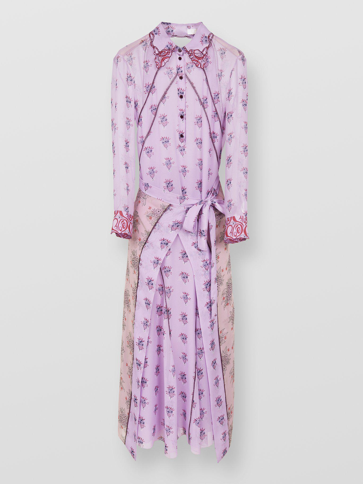 LONG SLEEVED DRESS WITH PRINT
