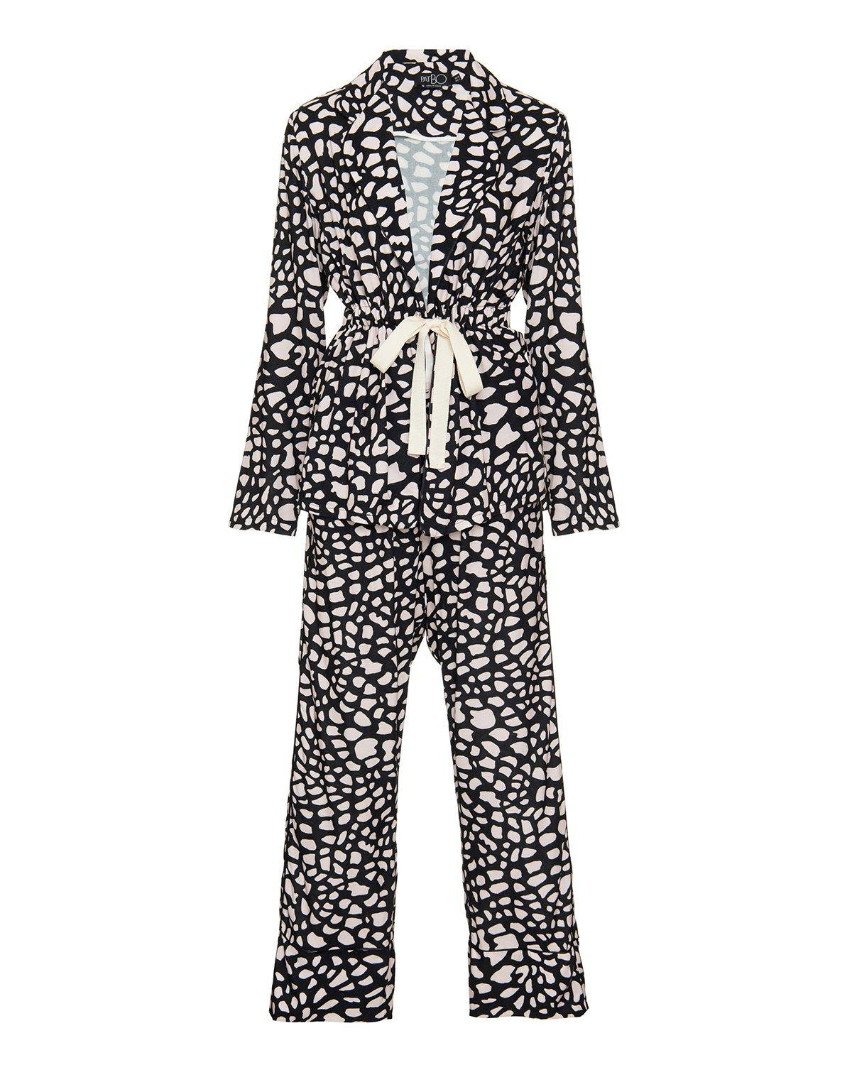 Spotted Long Sleeve Pajama Set (ONLINE EXCLUSIVE)