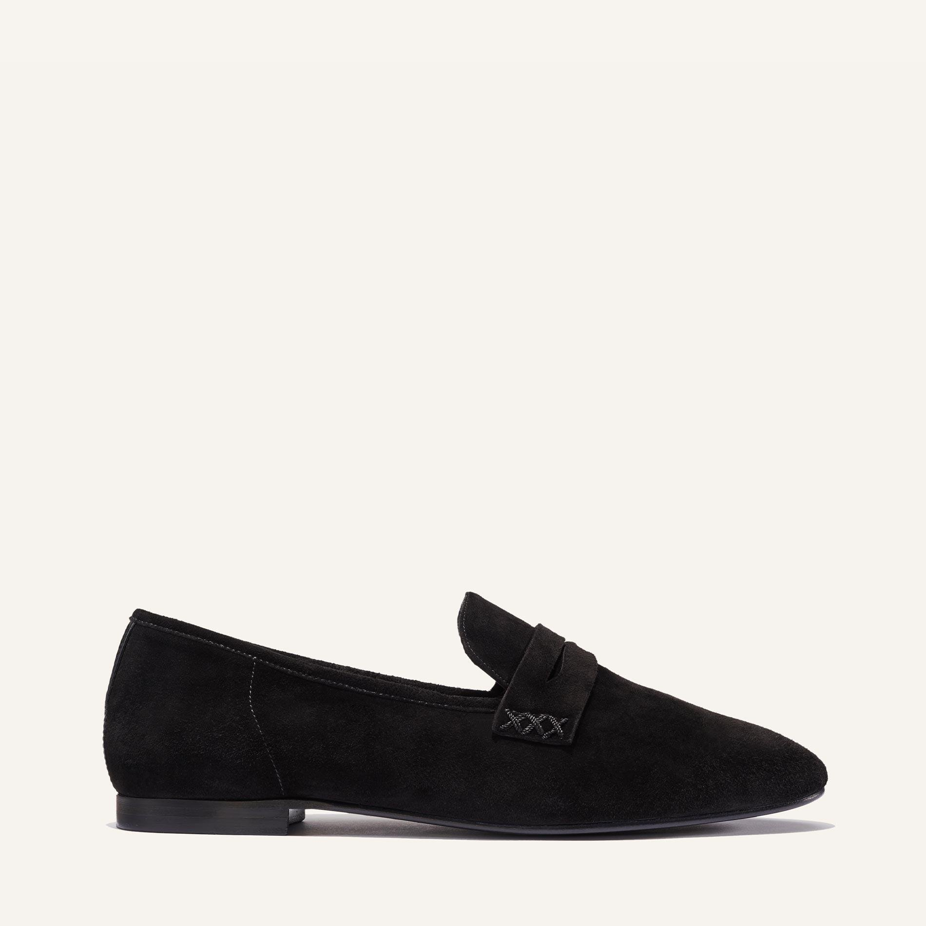 The Penny - Black Suede 1